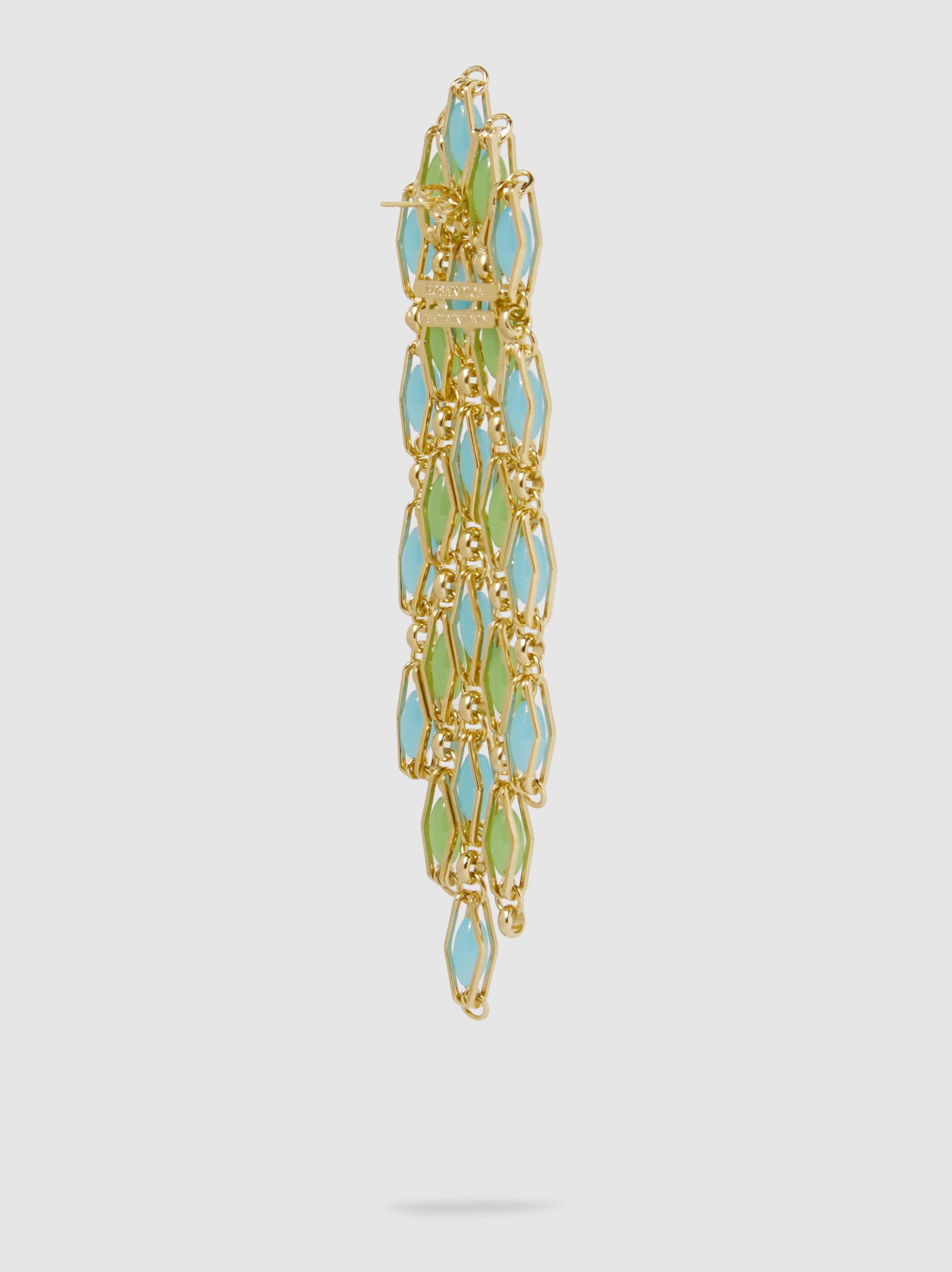 Rosantica Destino Gold-Tone Quartz Earrings 9JLqy5af