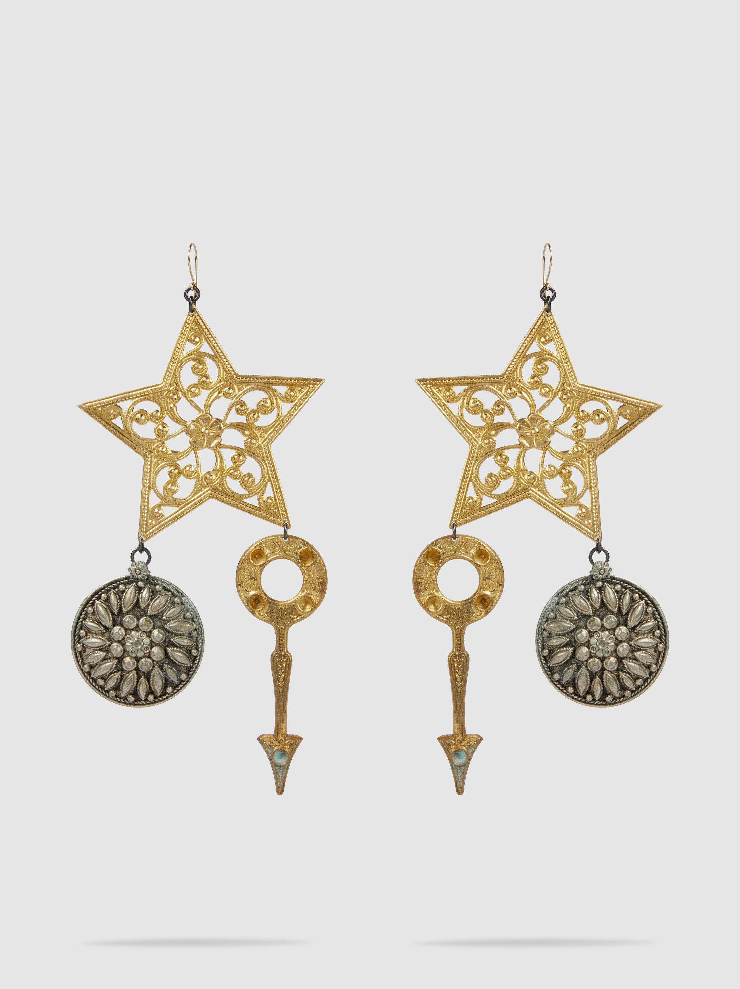 Erickson Beamon Starstruck Earrings zlnjyFPP