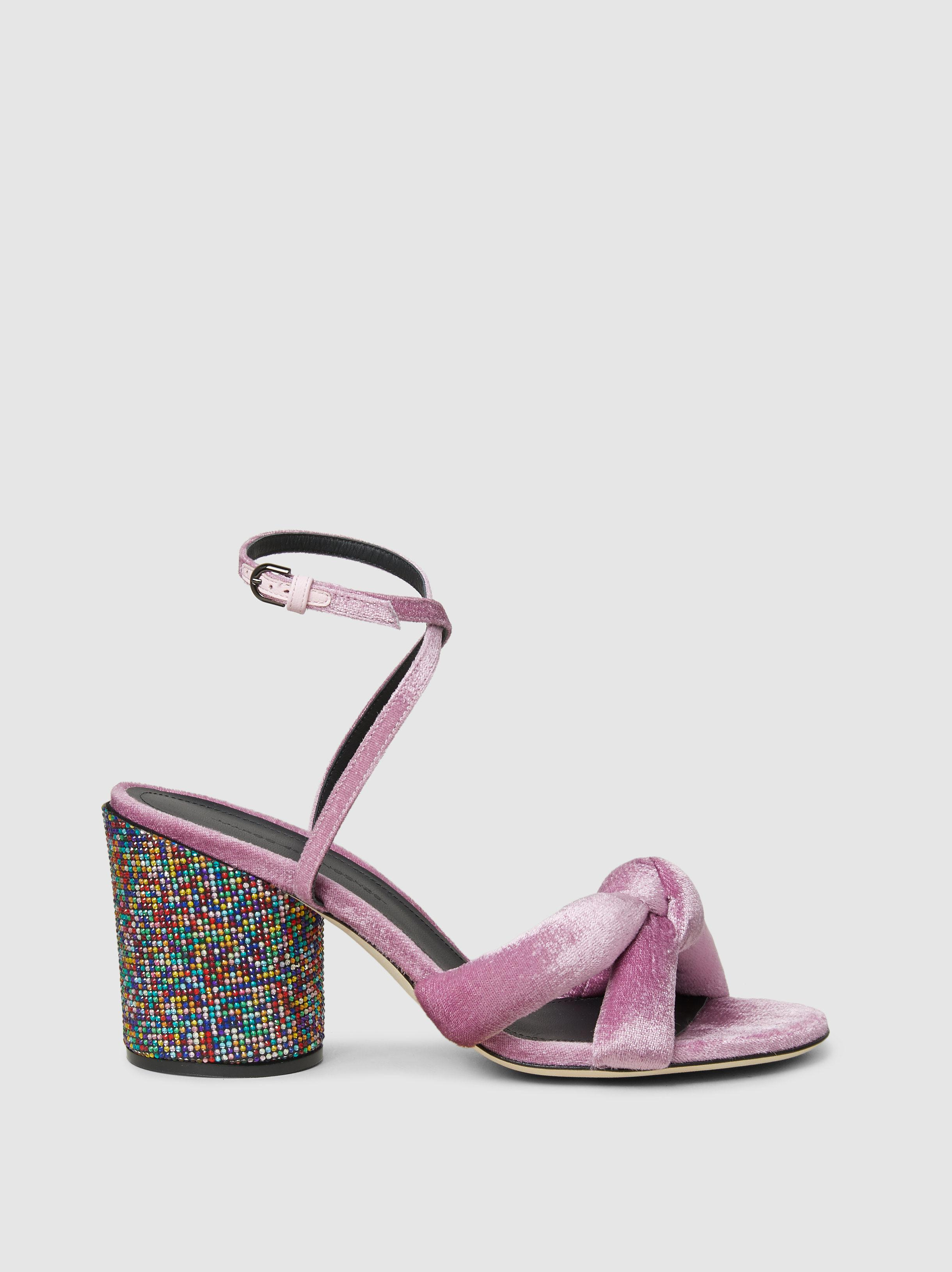 reputable site e055a be48d marco-de-vincenzo-Pink-Crystal-embellished-Knotted-Velvet-Sandals.jpeg