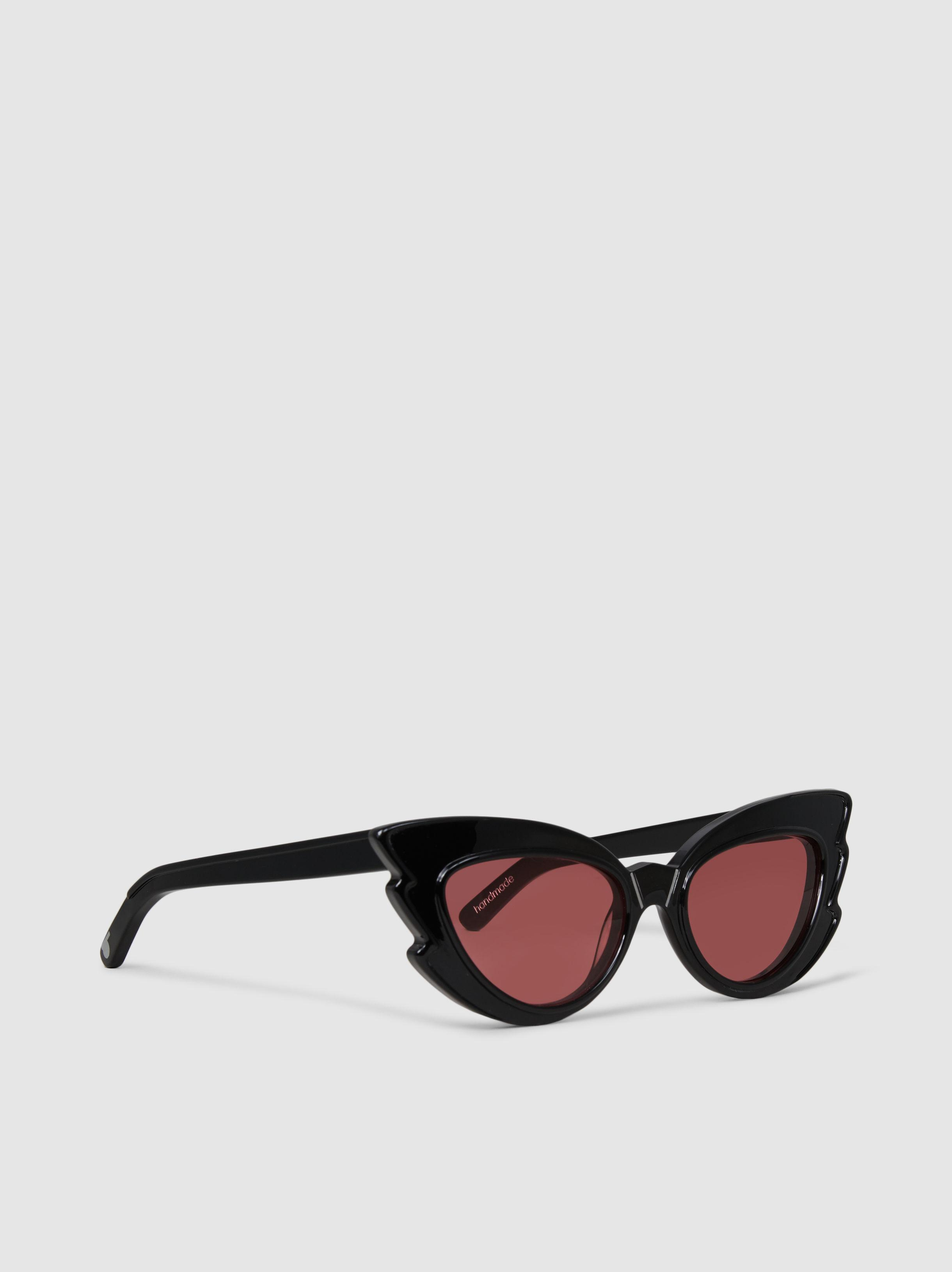 75a9fa8410 Pared Eyewear - Black Stargazers Cat-eye Acetate Sunglasses - Lyst. View  fullscreen