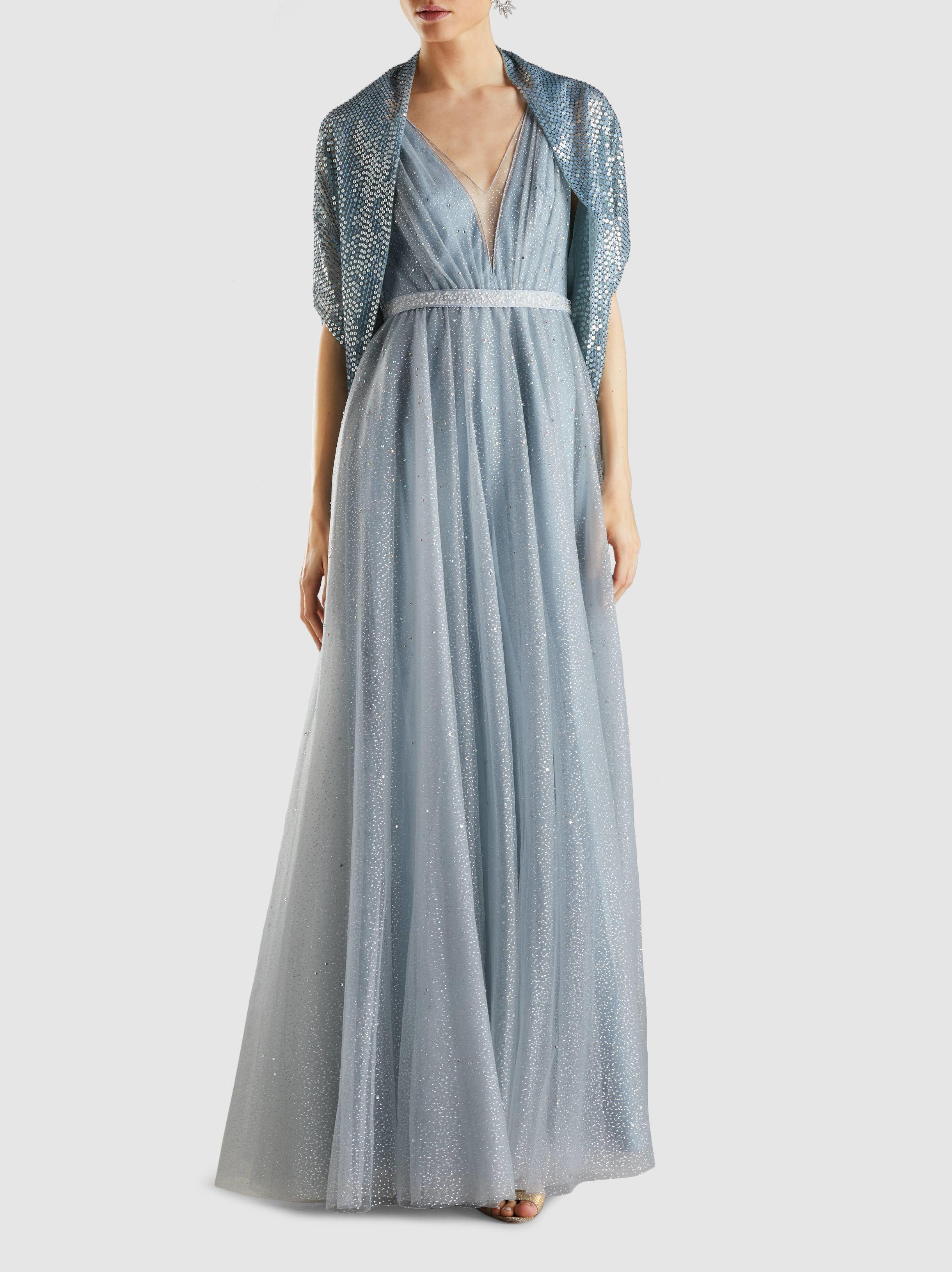 Skye Crystal-Embellished Tulle Gown Jenny Packham Fast Express Fake Online Footlocker Finishline Cheap Online Discounts Online Outlet 2018 Wveu9Uuo