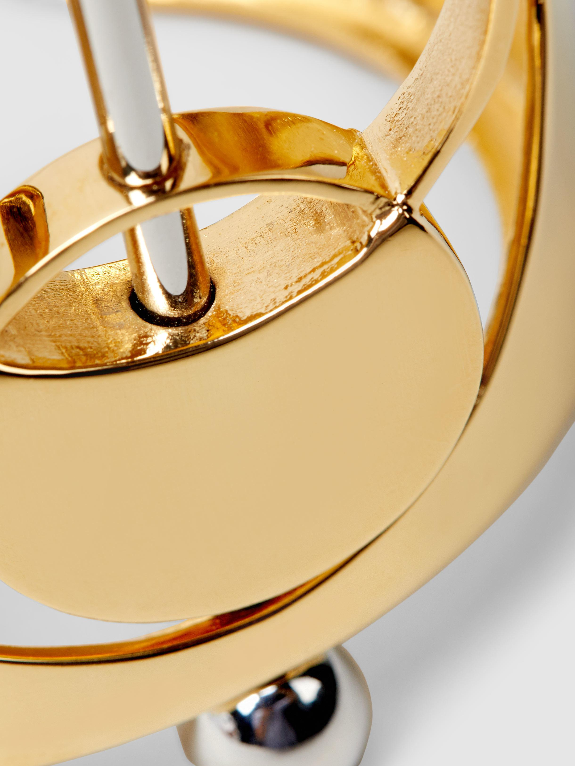Monica Sordo Silencio Gold And Silver-Tone Necklace FoHaCyzR