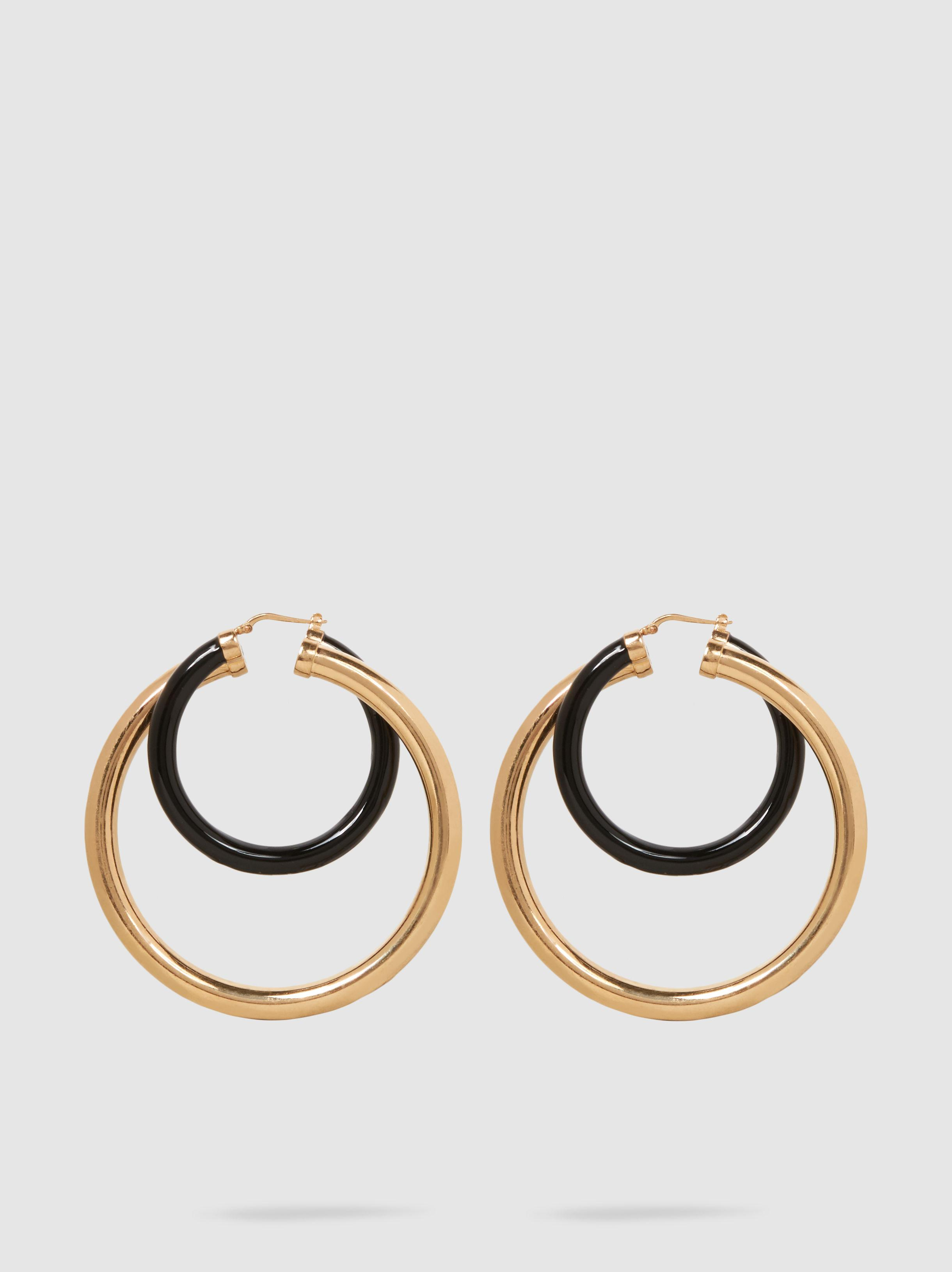 Peter Pilotto Large Double Hoop Earring RZMDhW