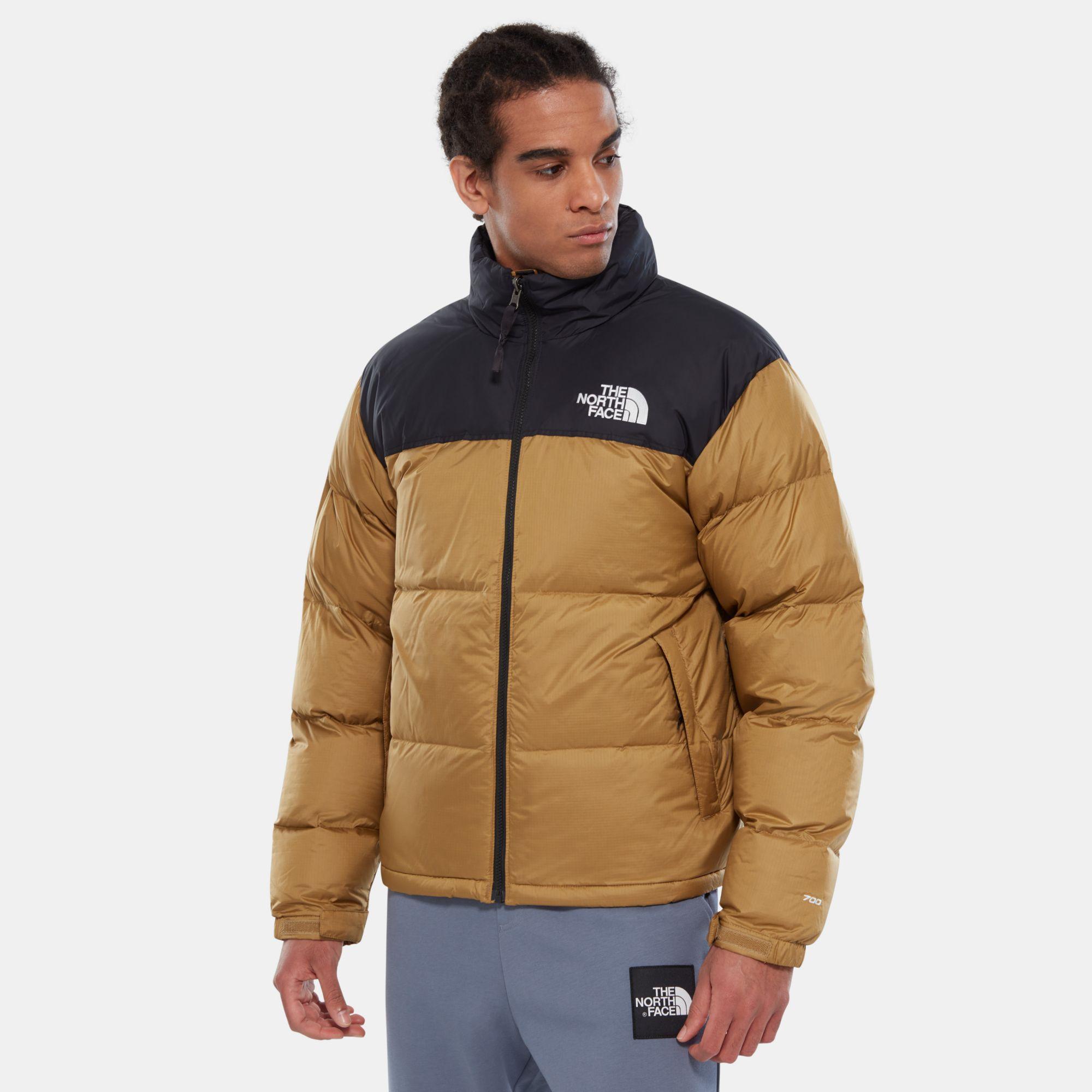 The North Face Opbergbare 1996 Retro Nuptse-jas in het Bruin voor heren
