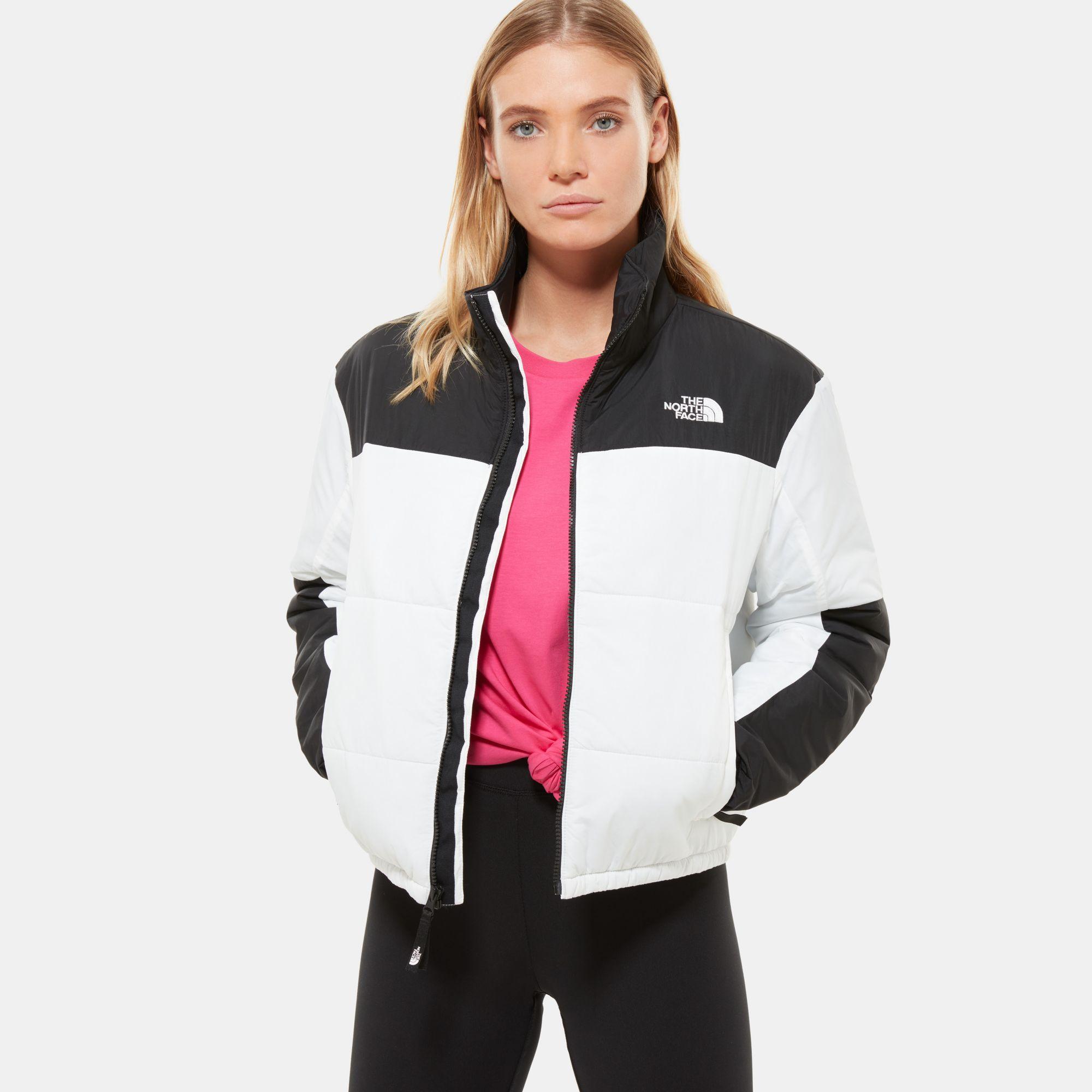 The North Face Women's Gosei Puffer Jacket Tnf in White - Lyst