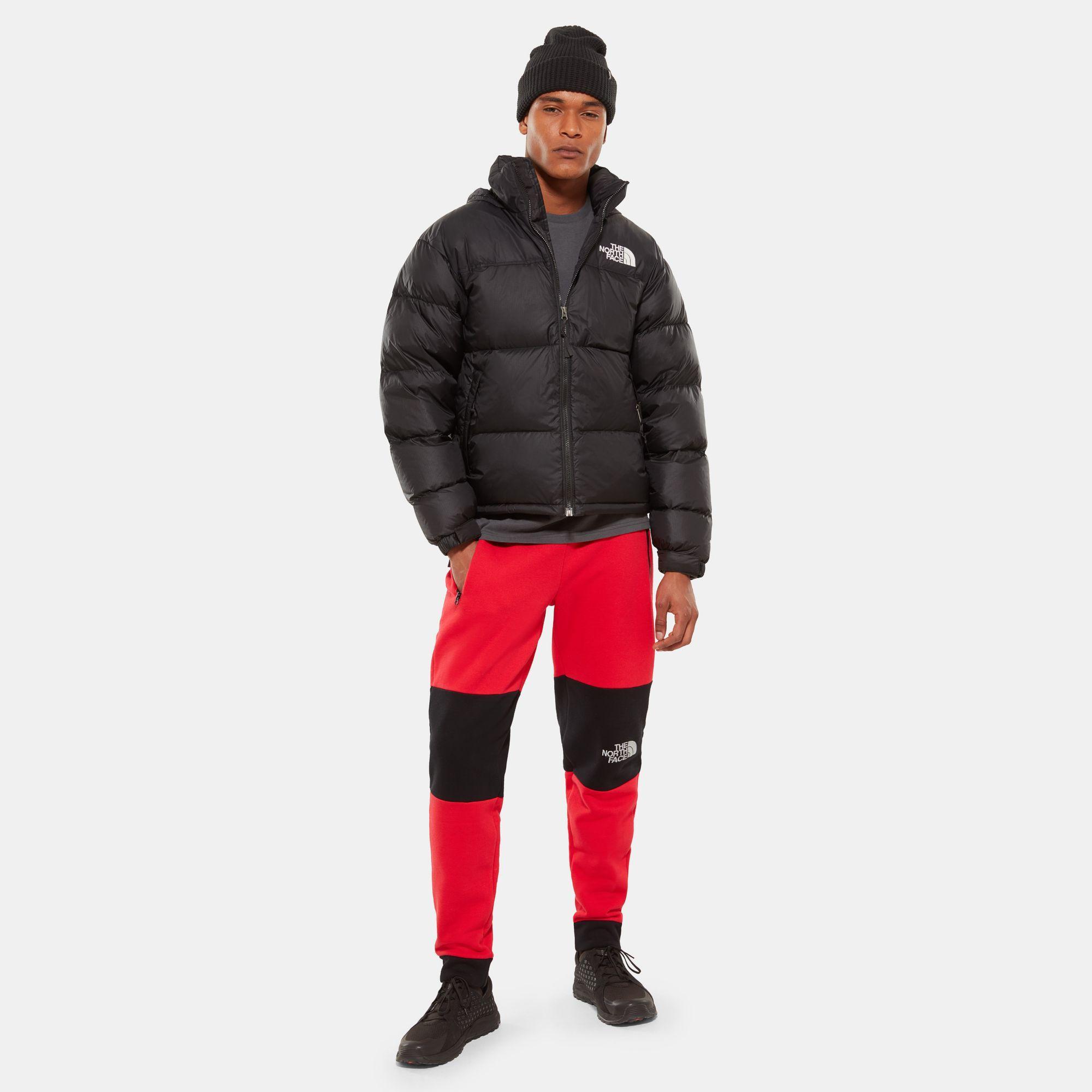 The North Face Opbergbare 1996 Retro Nuptse-jas in het Zwart voor heren