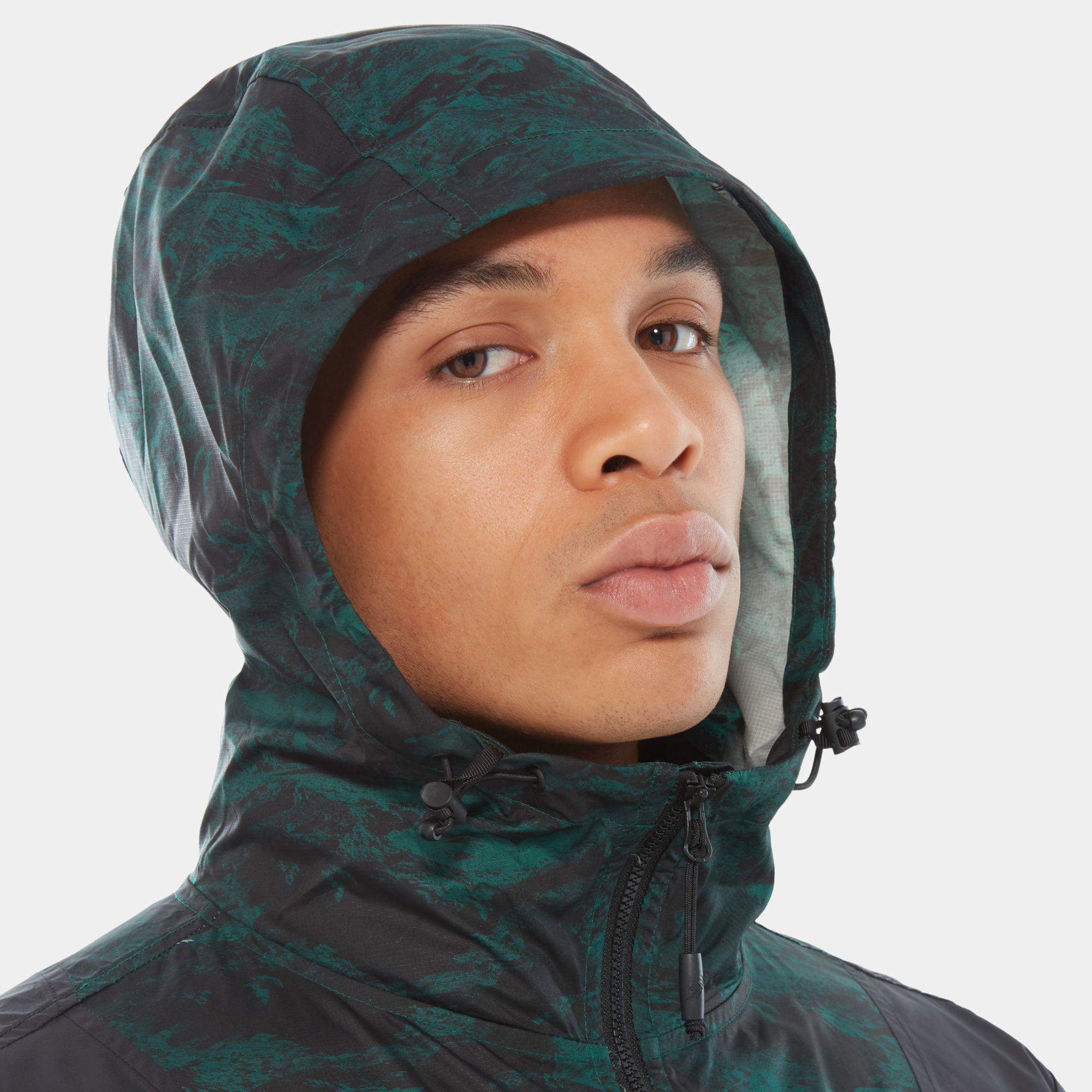 The North Face Mountain Light Windshell-jas in het Groen voor heren