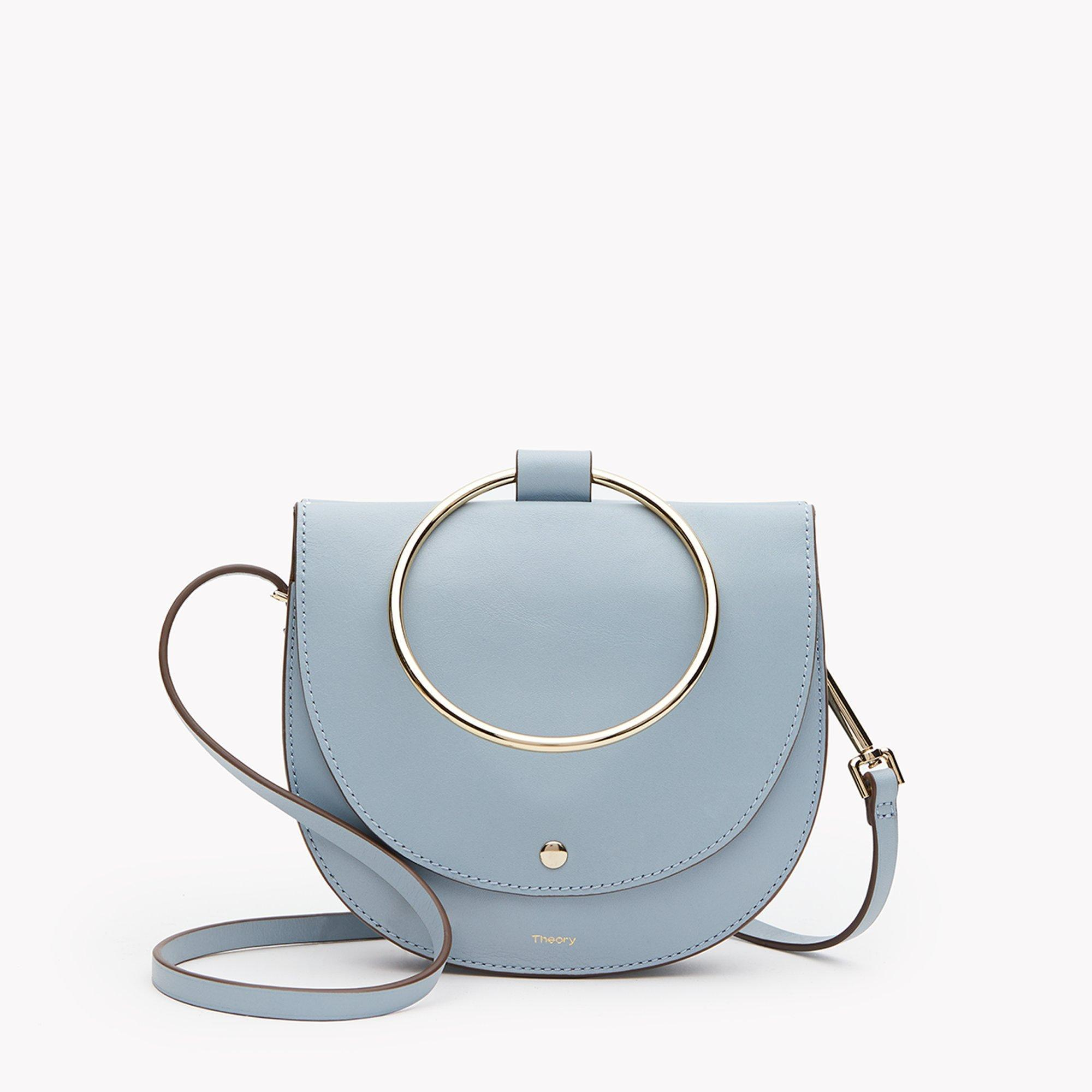 Whitney Suede Shoulder Bag - Blue Theory