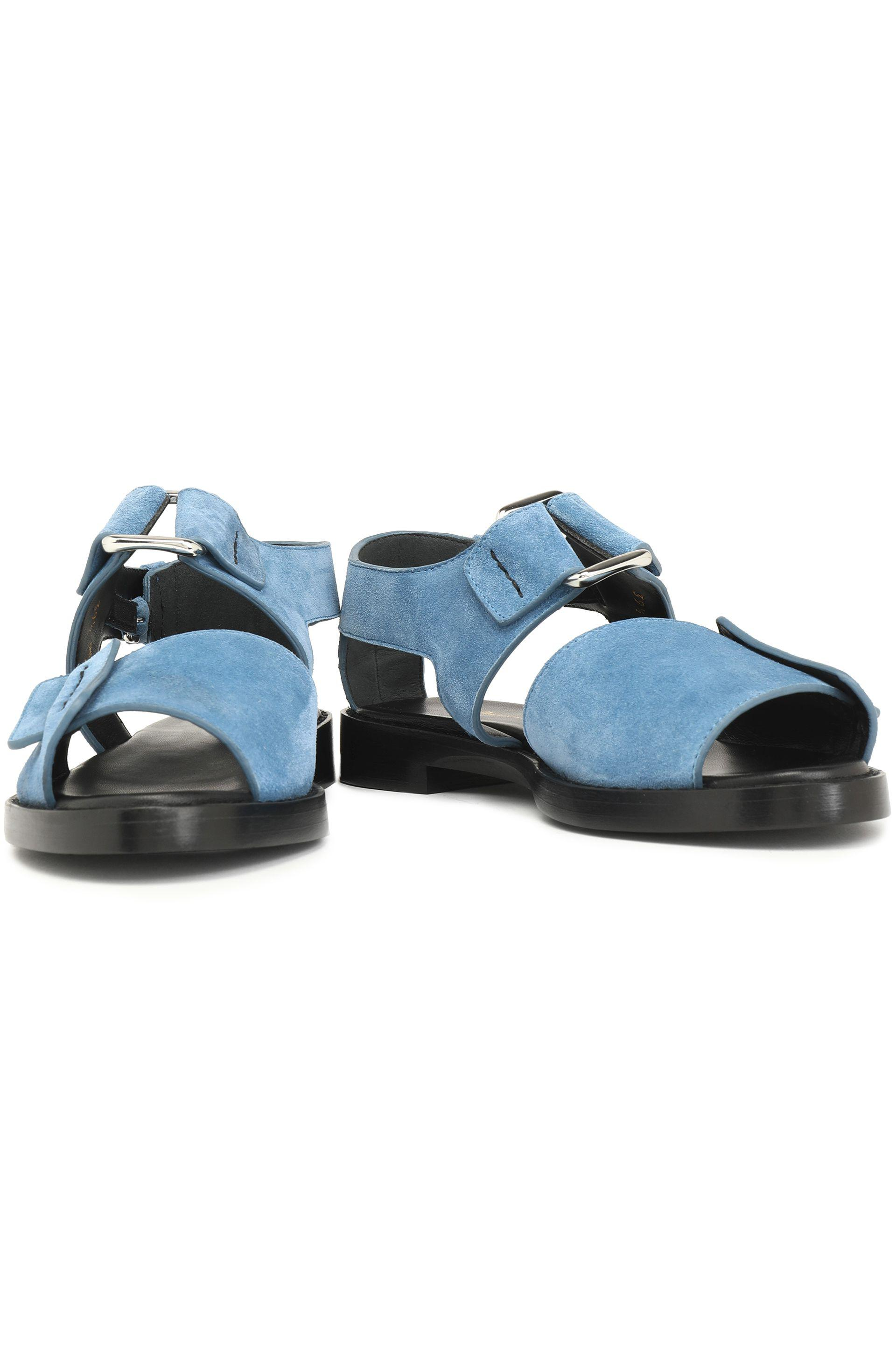 100% original sale online 3.1 Phillip Lim Suede Cutout Sandals buy cheap newest websites online with credit card buy online outlet N5F7B3b