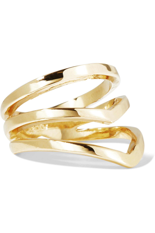 Arme De Lamour Woman Set Of Two Rose Gold-tone Rings Rose Gold Size 7 Arme De L'Amour 8mP2JX