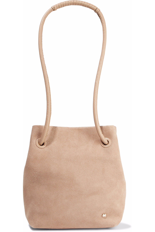 8272475de0 Halston Heritage - Multicolor Woman Alism Suede Bucket Bag Blush - Lyst. View  fullscreen