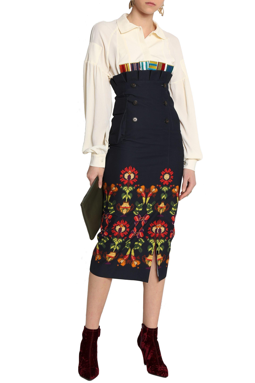 43e1fbe139 Stella Jean Midi Skirt | Huston Fislar Photography