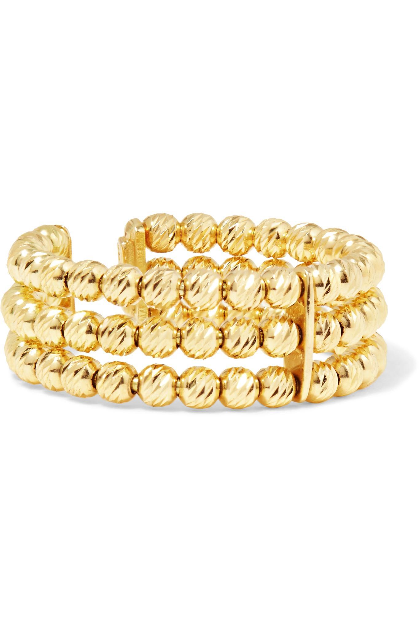 Shield 18-karat Gold Ring - Rose gold Carolina Bucci gahg5WzOOc