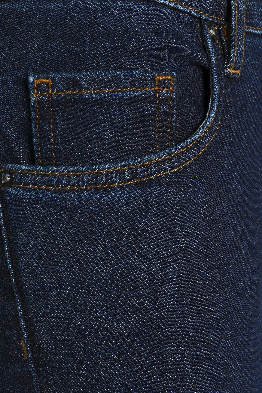 Victoria, Victoria Beckham High-rise Flared Jeans Mid Denim in Blue