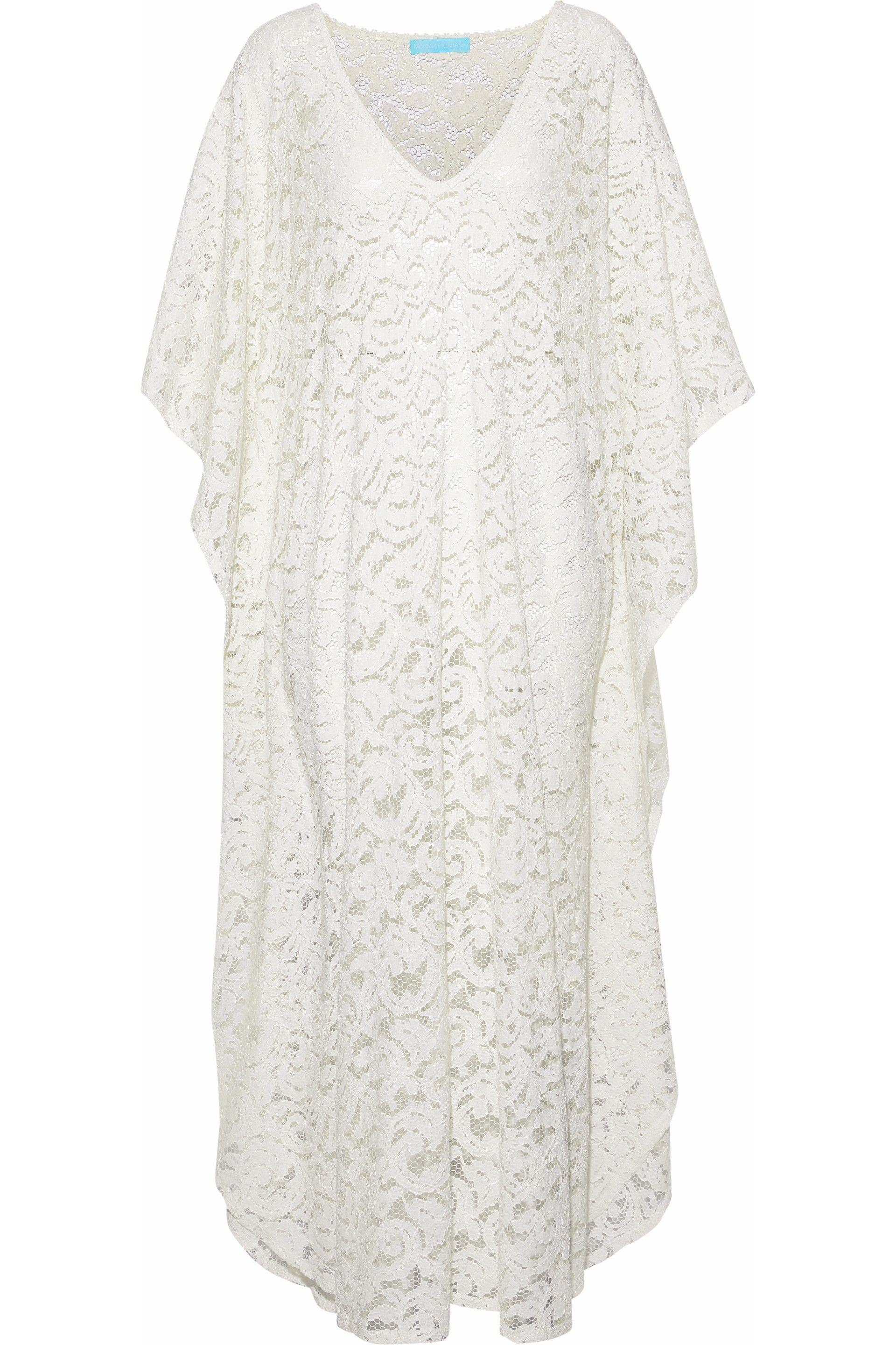 Melissa Odabash Woman Lace Kaftan White Size ONESIZE Melissa Odabash Explore Top-Rated Outlet Enjoy Cheap Sale Perfect 1D5Ct