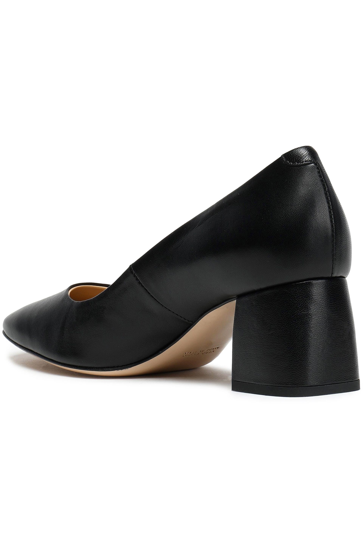 Woman Mara Leather Pumps Black