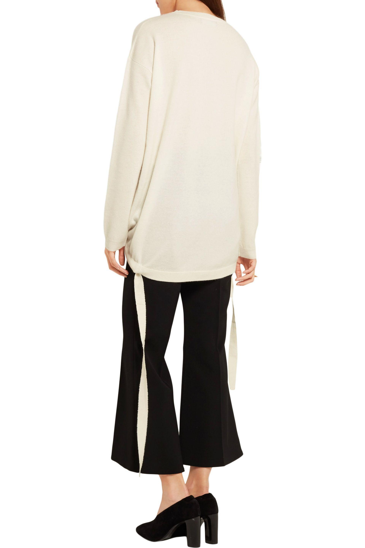 Ellery - Multicolor Smitten Drawstring Cashmere Sweater - Lyst. View  Fullscreen