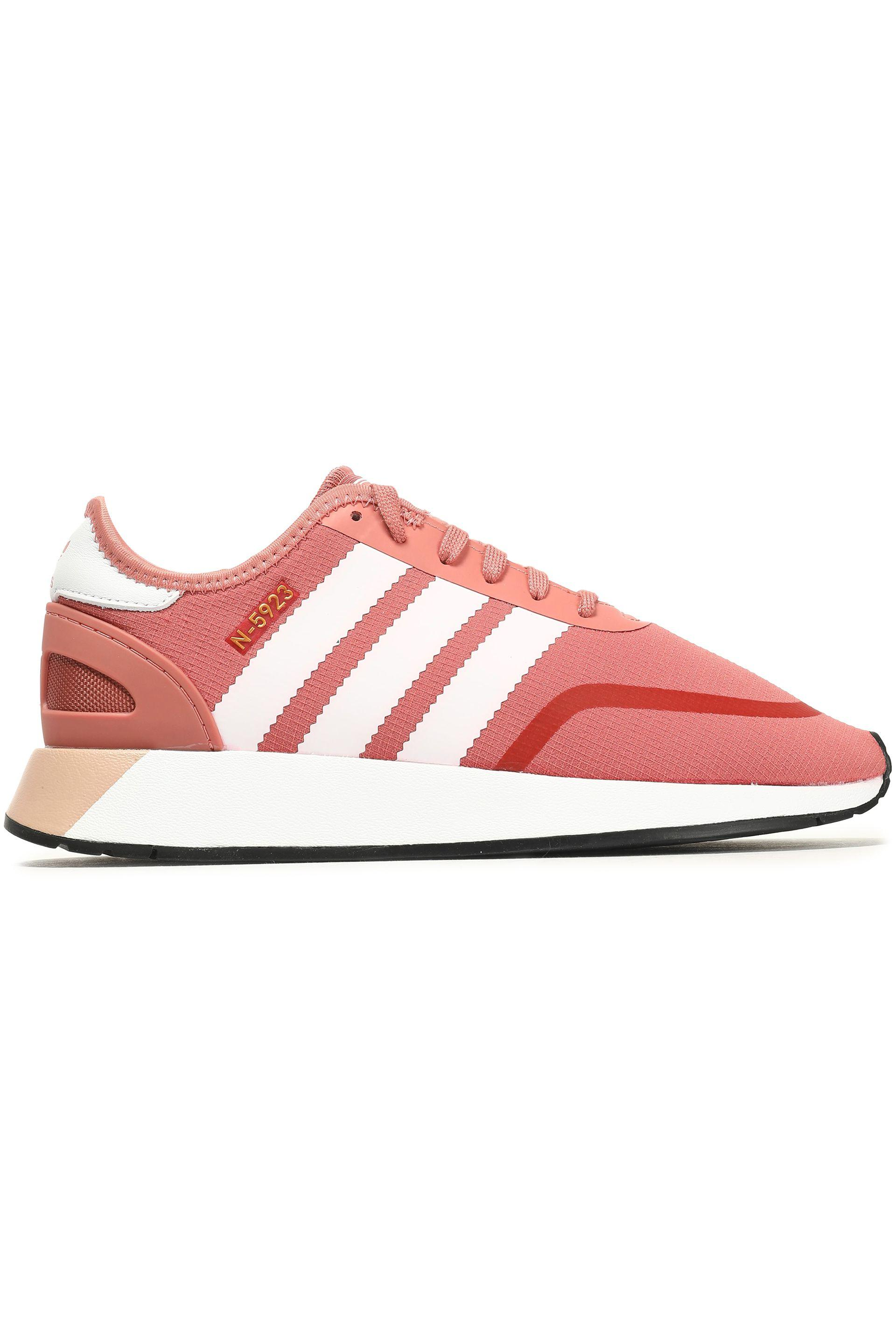 adidas Originals Rubber N 5923 Stretch knit Sneakers Antique