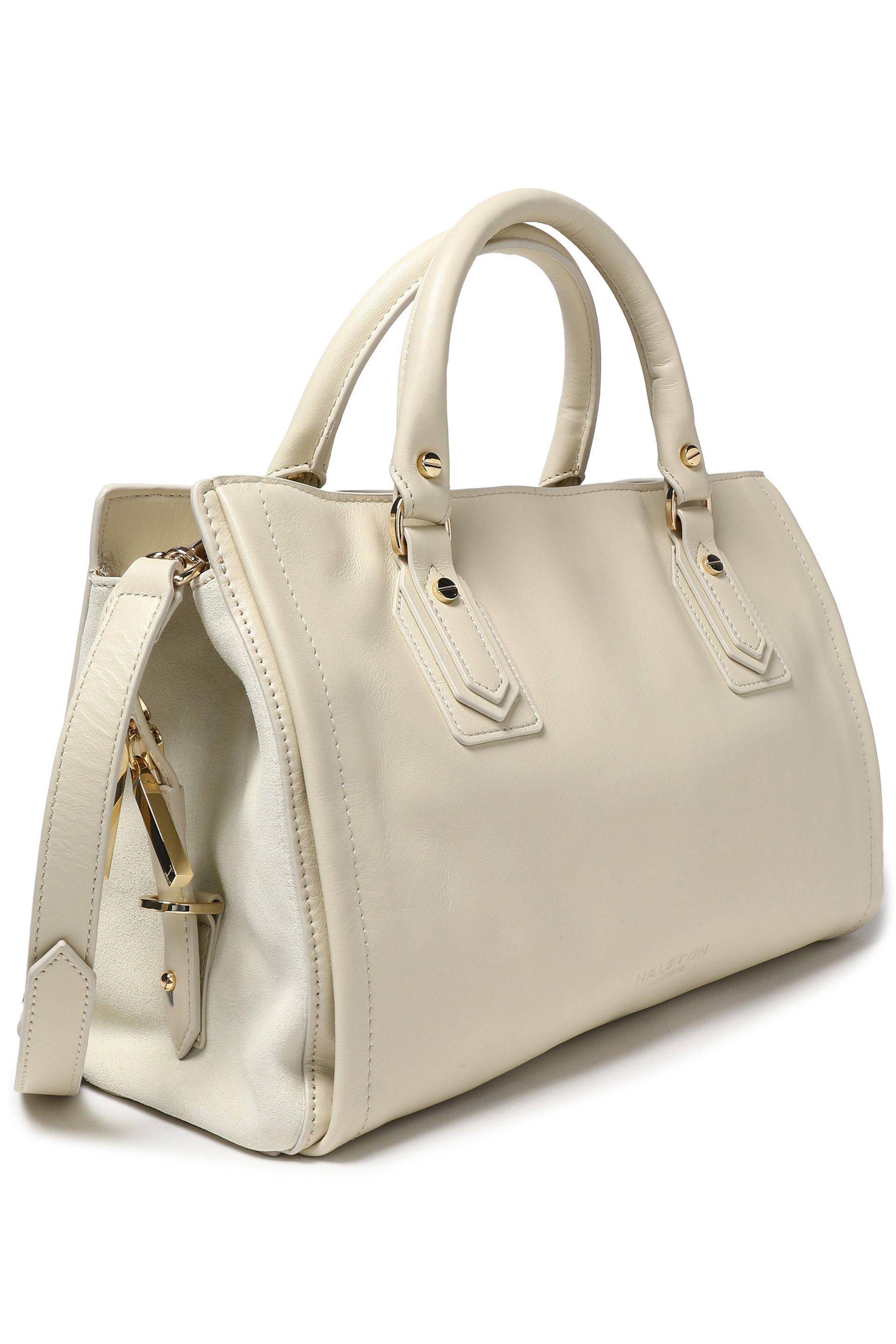 c177208046af Halston Heritage - Multicolor Woman Leather Shoulder Bag Off-white Size --  - Lyst. View fullscreen