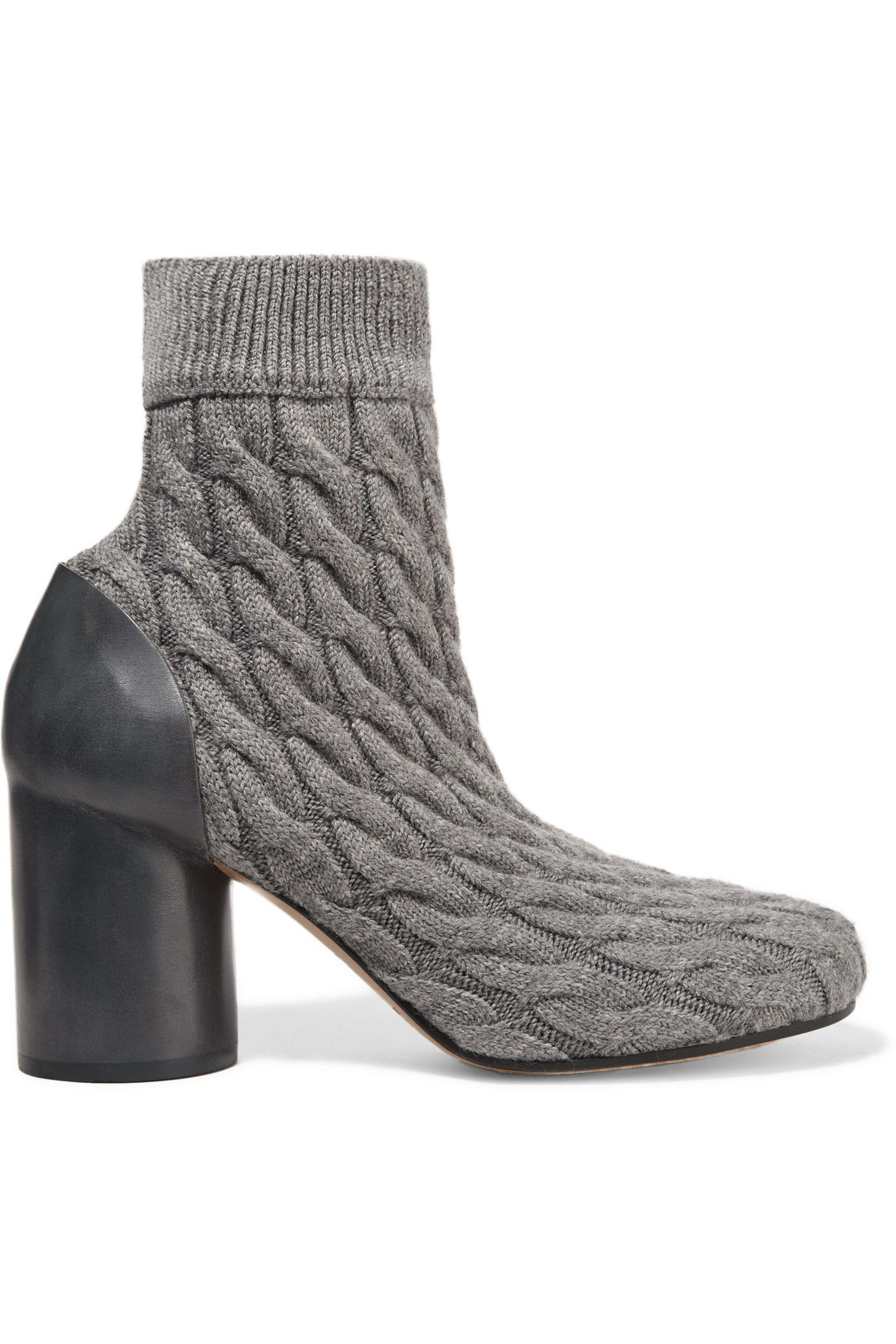 Maison Margiela Cable Knit Sock Ankle Boots w/ Tags cheap latest cheap sale limited edition sale the cheapest clearance shopping online iZ29W