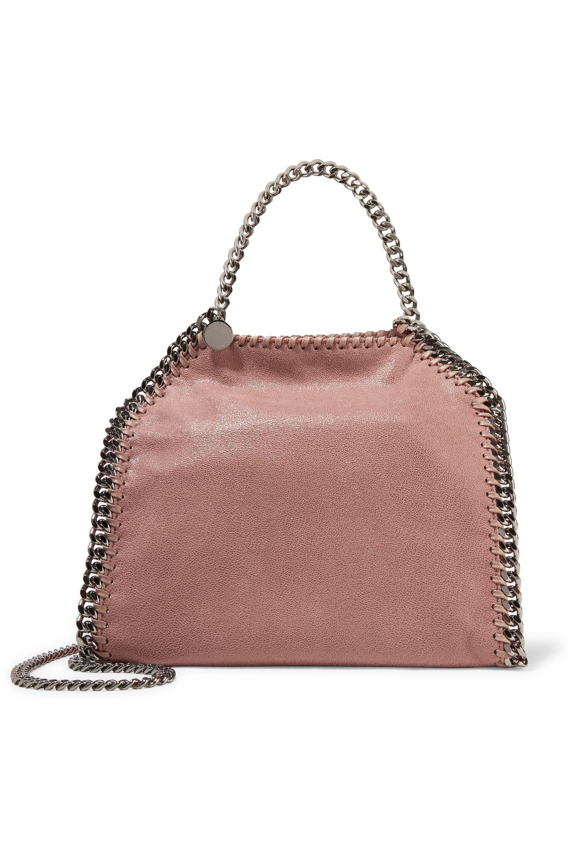The Falabella Medium Reversible Faux Brushed-leather Tote - Blush Stella McCartney 2SfdXM1