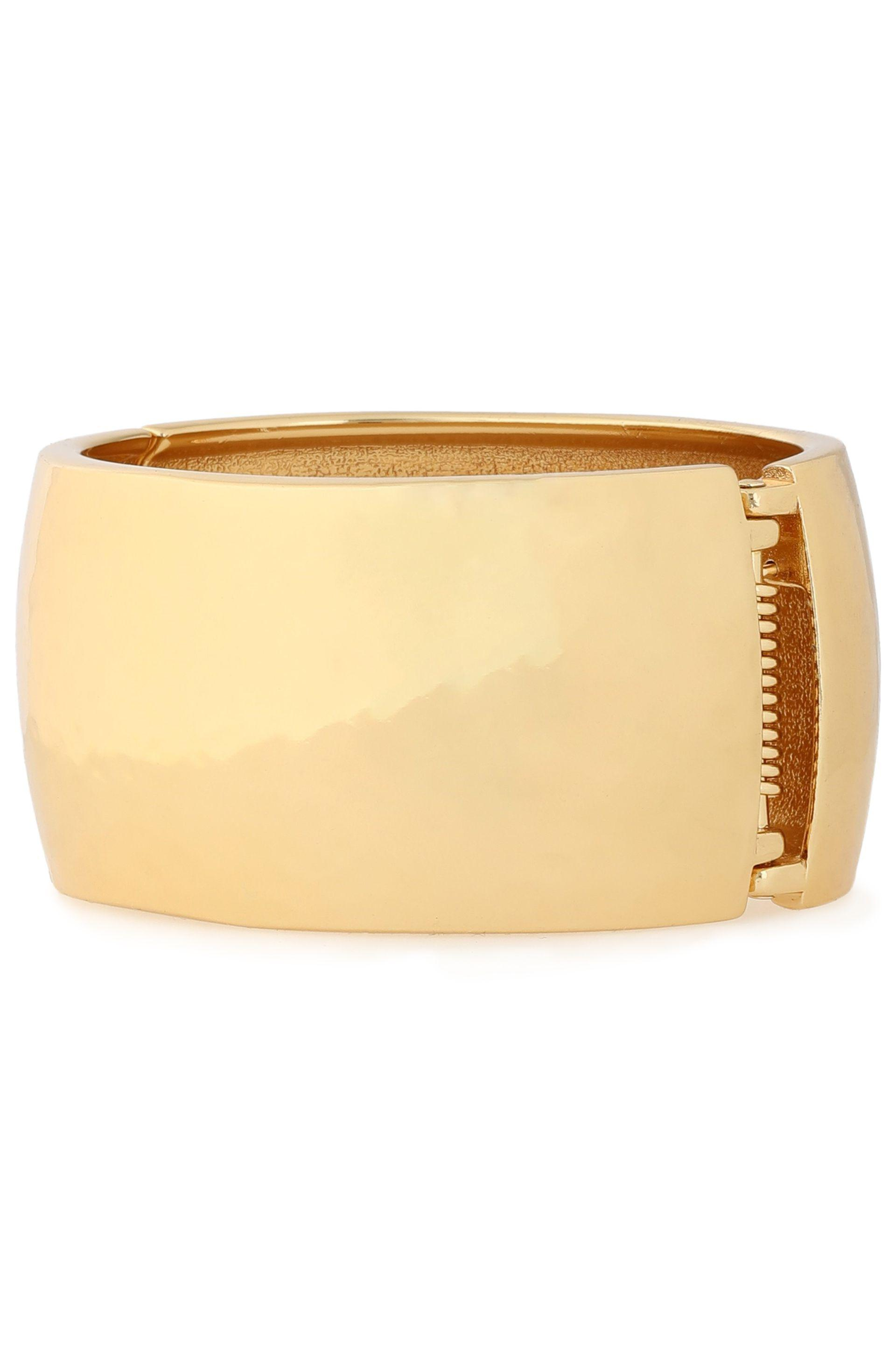 Kenneth Jay Lane Woman Gold-tone Cuff Gold in Metallic