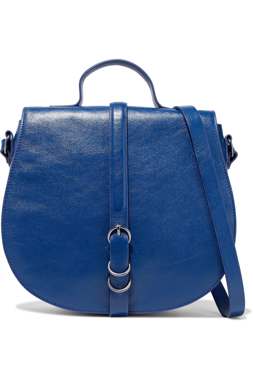 18e191cc7d Halston heritage buckled leather shoulder bag in blue lyst jpg 1920x2880 Halston  heritage handbags