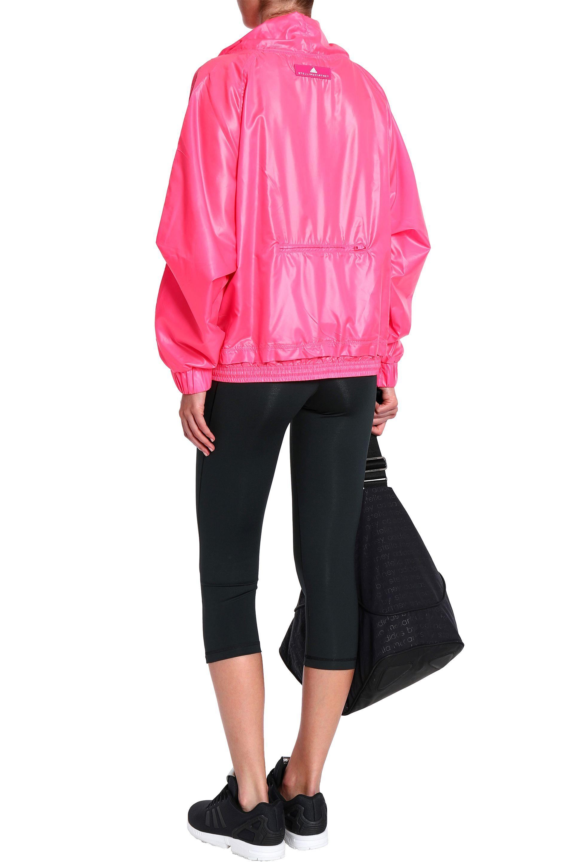 81eb61ed15 Women's Shirred Shell Jacket Bright Pink