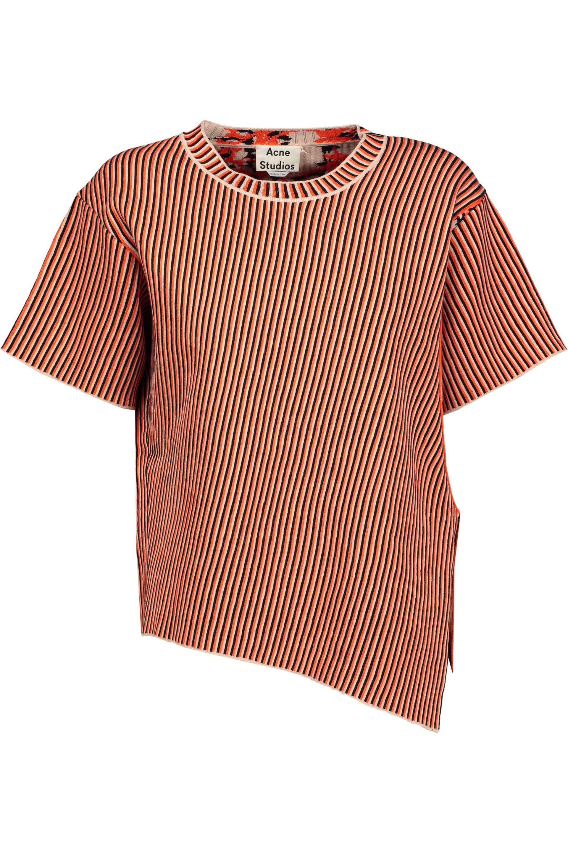 Free Shipping Best Store To Get Acne Studios Woman Jana Jacquard-knit Top Bright Orange Size M Acne Studios Best Place zrPiwKY
