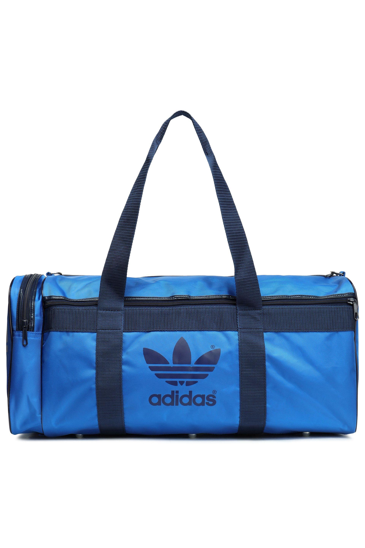 9b448949c8 adidas Originals Woman Printed Shell Gym Bag Blue in Blue - Lyst
