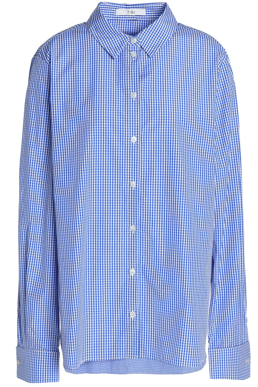 Être Cécile Woman Appliquéd Striped Cotton-poplin Shirt Light Blue Size L être cécile Fast Delivery Online Cheapest Online Supply Outlet 2018 New Cheap Sale Shopping Online C8CIEt2