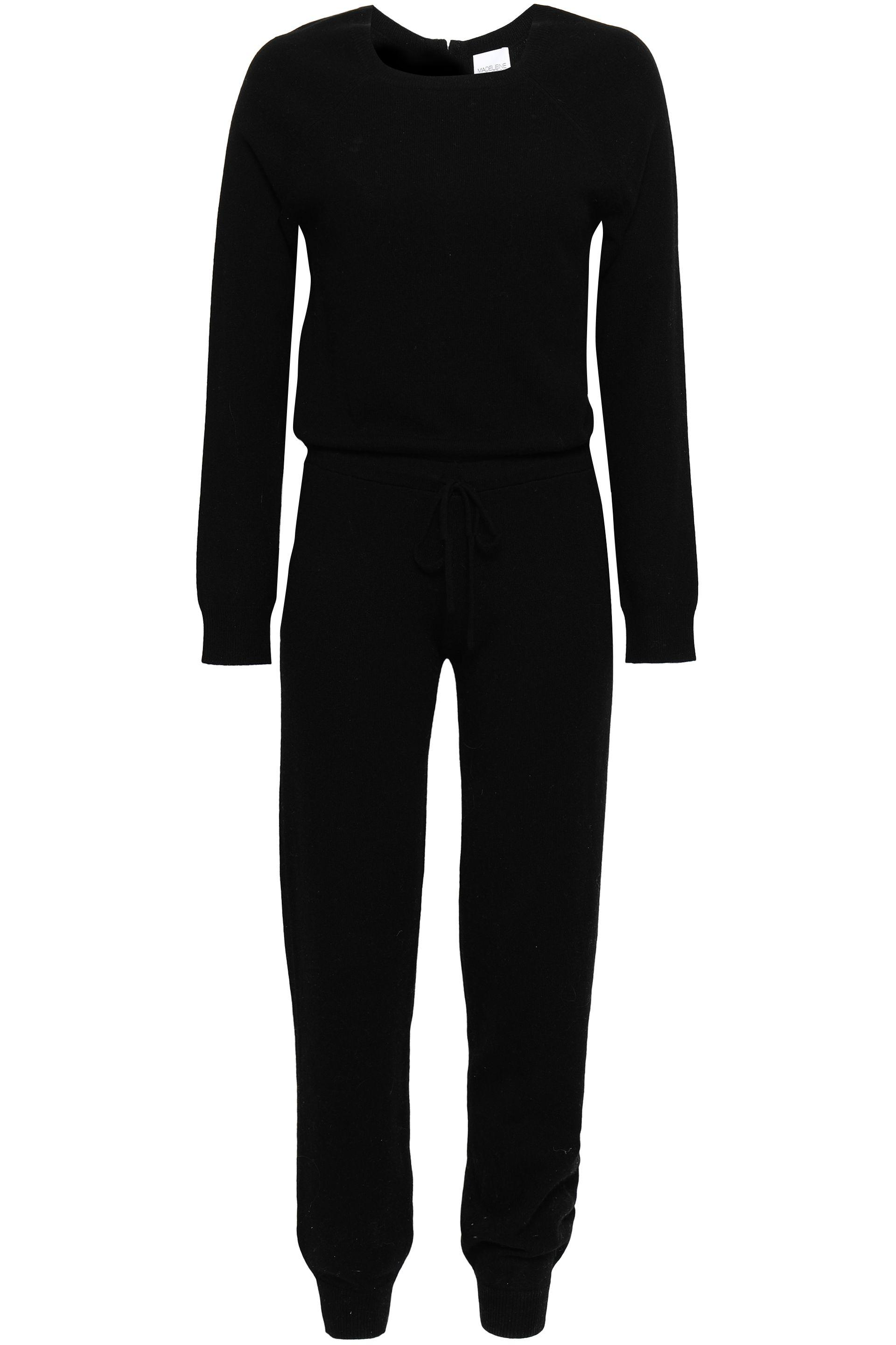 9f5c49832283 Madeleine Thompson. Women s Woman Wool And Cashmere-blend Jumpsuit Black