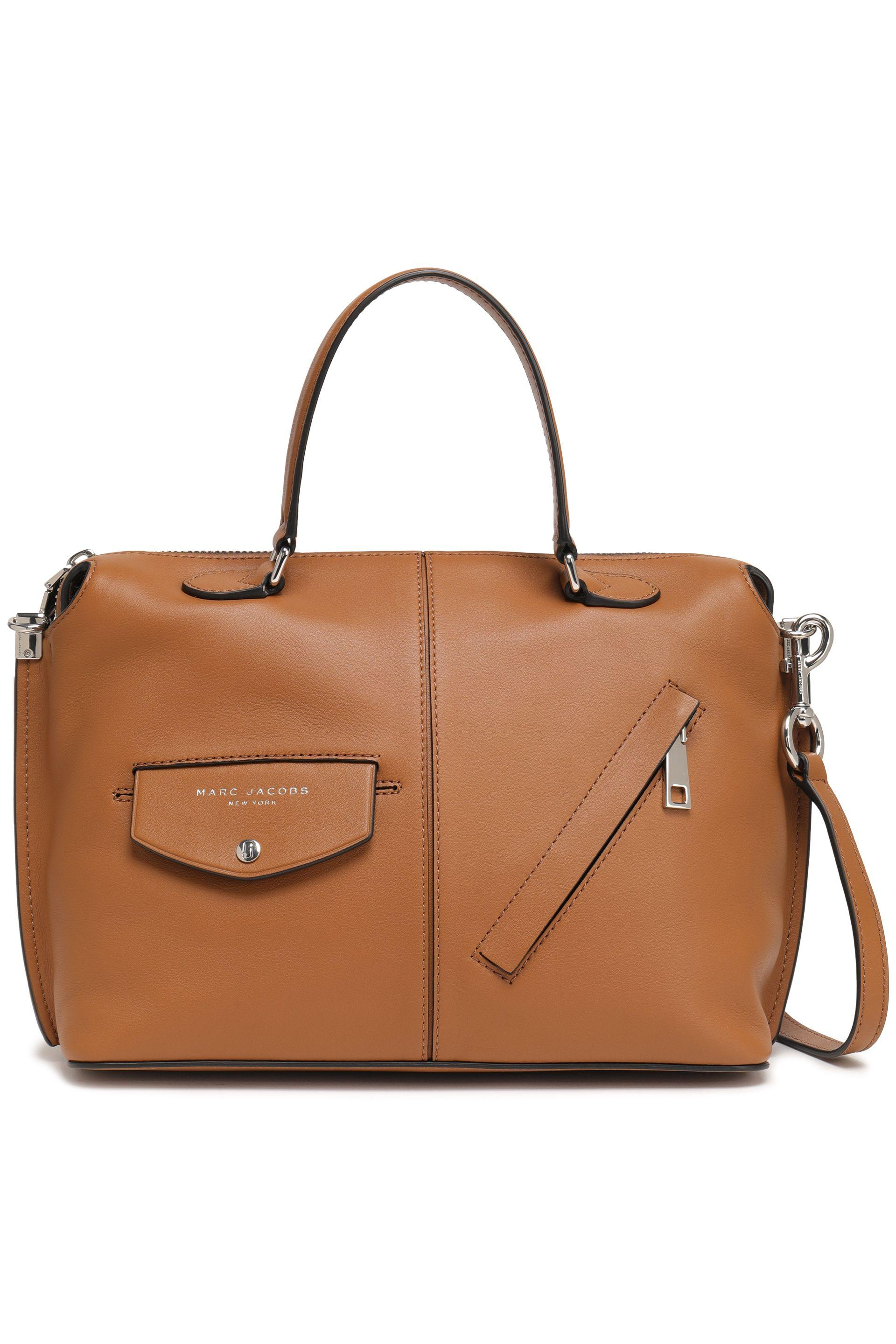 df55d31268a Marc Jacobs Woman Leather Shoulder Bag Light Brown in Brown - Lyst
