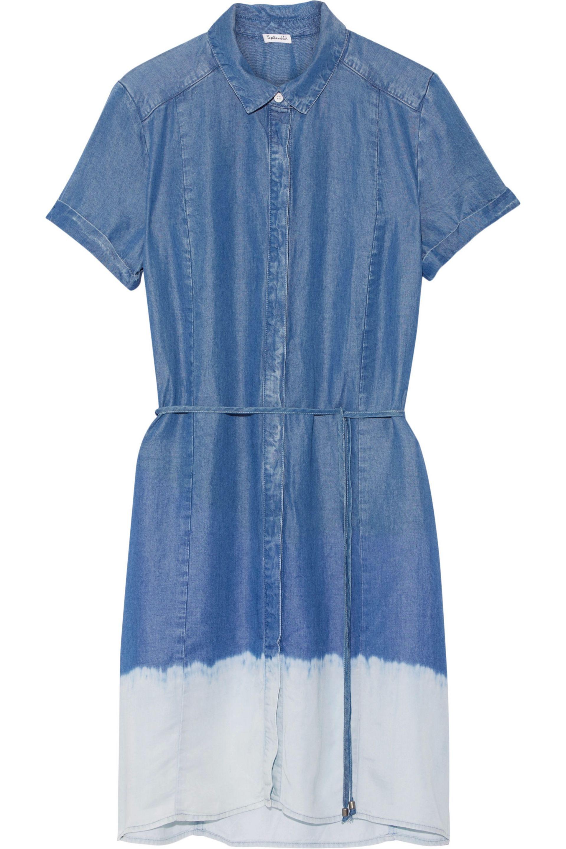 Splendid Woman Sandollar Degradé Chambray Shirt Dress Mid Denim Size XS Splendid Free Shipping Best Wholesale Amazing Price Outlet Really P8lHBq
