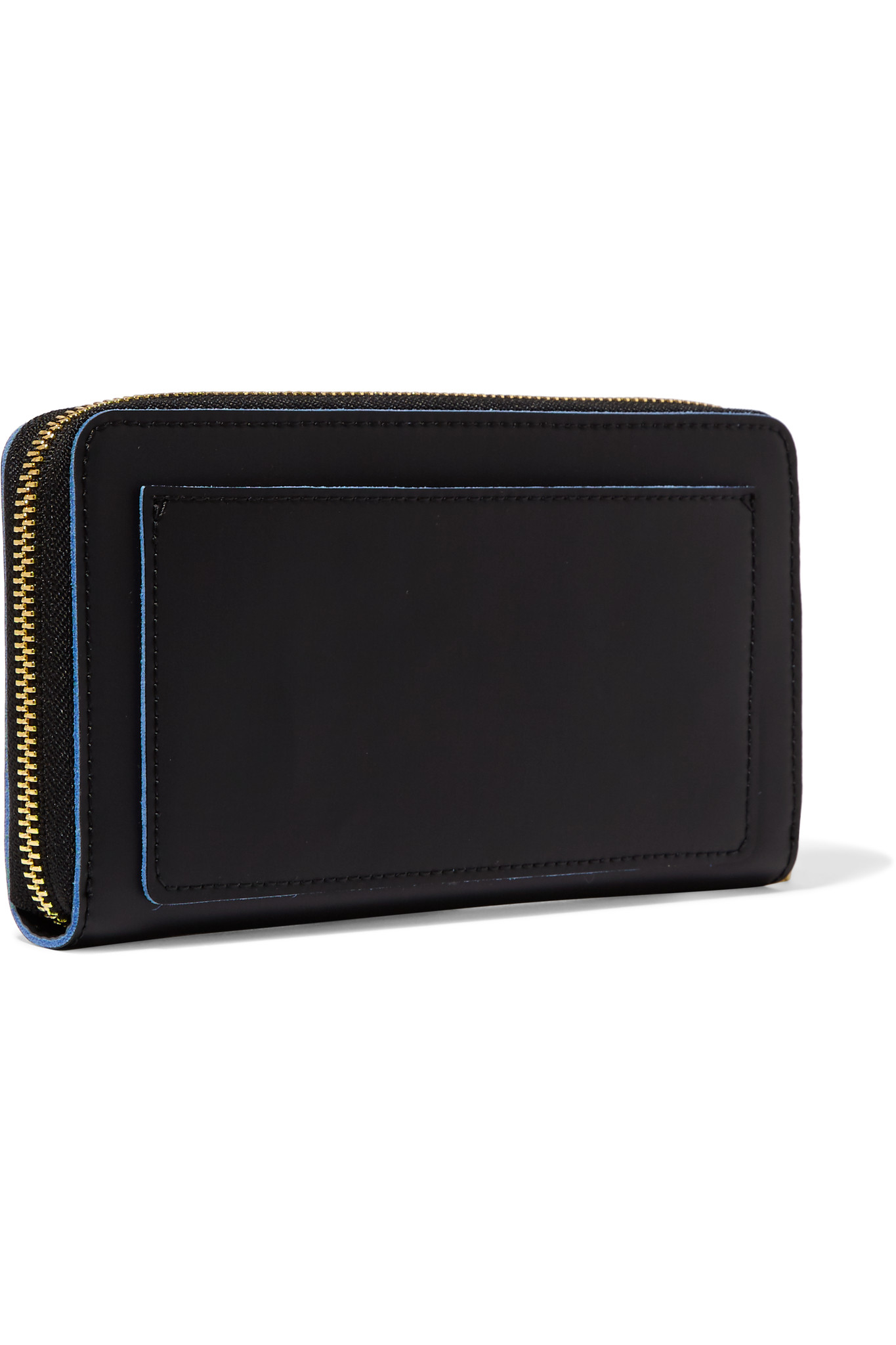 Dkny Quilted Leather Wallet Clutch in Black | Lyst |Dkny Wallet