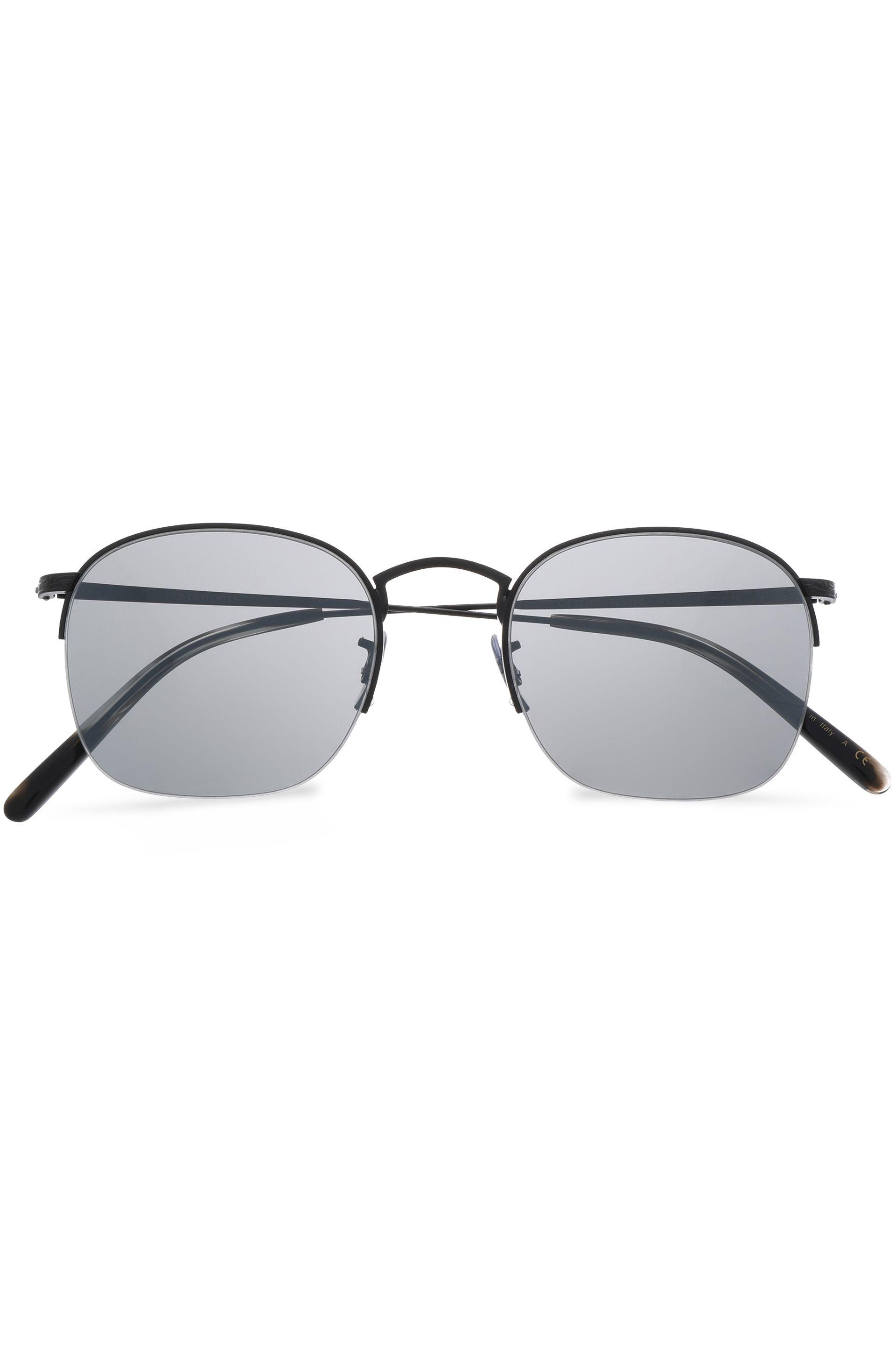 89c04f7789 Oliver Peoples. Women s Woman Square-frame Gold-tone Sunglasses Black