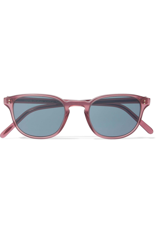 Sunglasses Fairmont Round Oliver Acetate Frame Peoples Pink Sun CQErxoeWdB