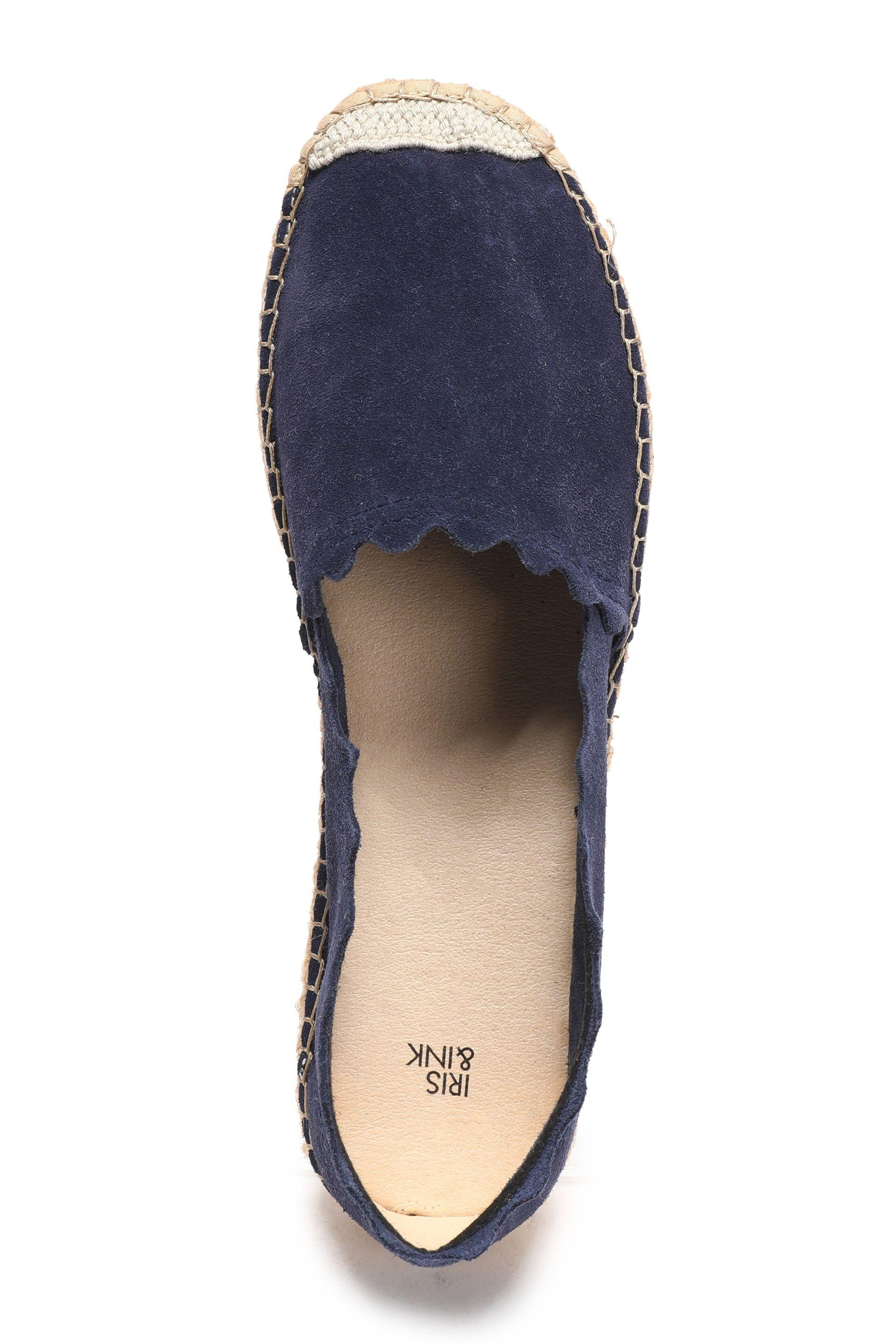 9a930abc842 Women's Blue Hester Leather Espadrilles Navy