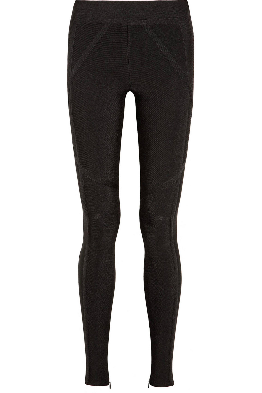 6034785593a4 Lyst - Hervé Léger Hervé Léger Woman Dae Bandage Leggings Black in Black