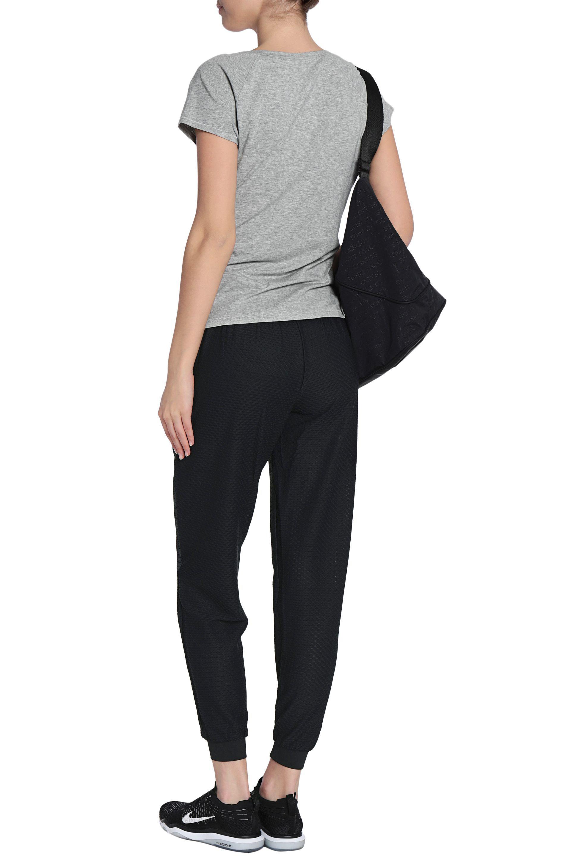 Calvin Klein Woman Stretch Cotton And Modal-blend Jersey Pajama Top Gray Size M Calvin Klein Shop For View Cheap Online KSlXB