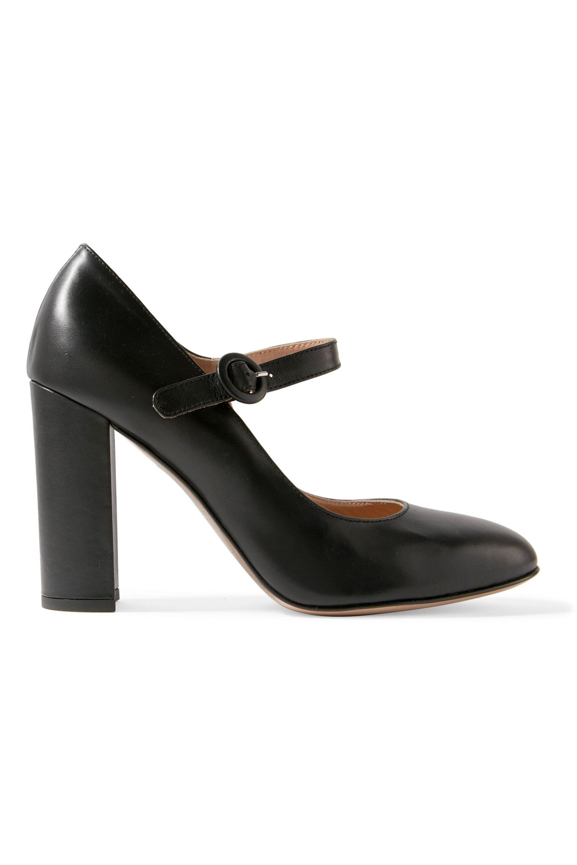 Emily Leather Pumps