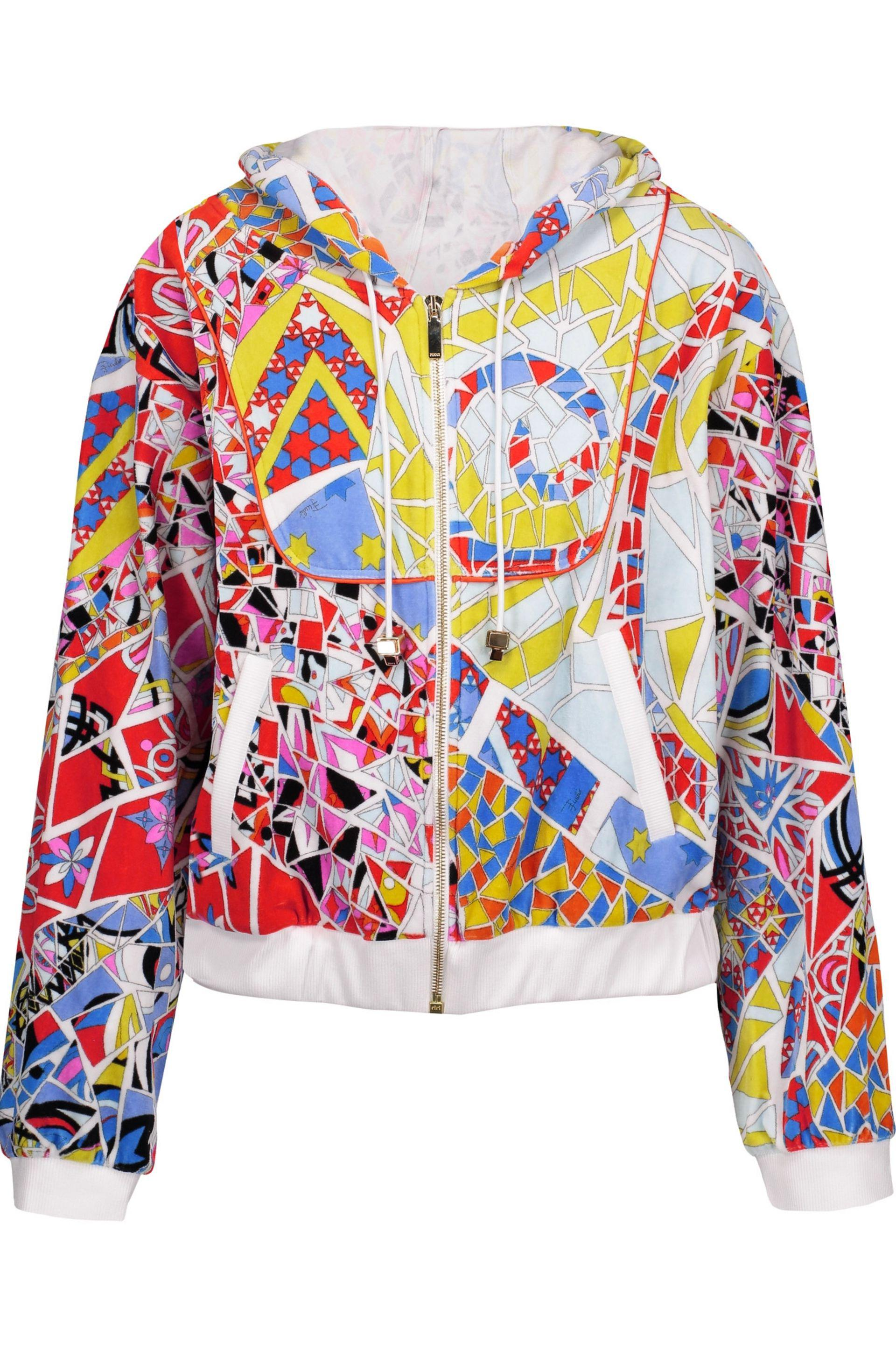 Printed cotton sweatshirt Emilio Pucci Discount Popular Cheap Price Fake Sale Official For Sale Wholesale Price Pay With Visa 1cdBrkWVs