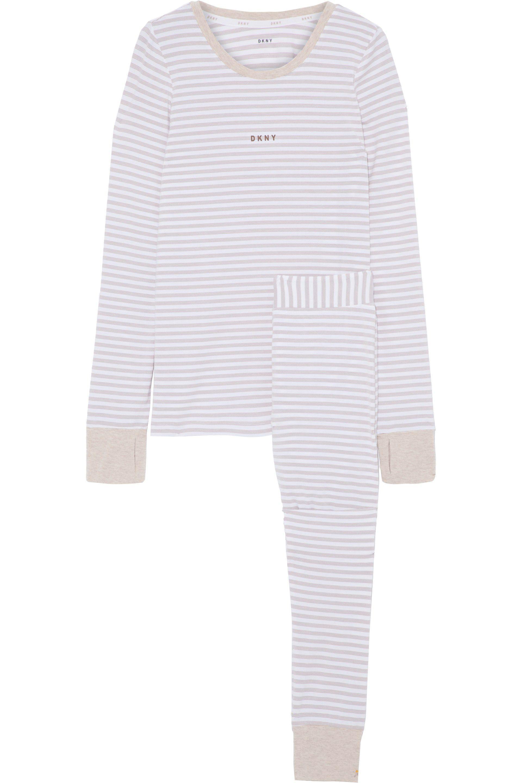 d8d26f89ef8cab dkny-Off-white-Striped-Stretch-modal-Jersey-Pajama-Set.jpeg