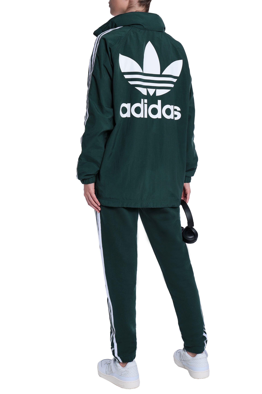 Puma Lady's Adidas Athletics Rose Woven Shell Windbreaker Jackets Black