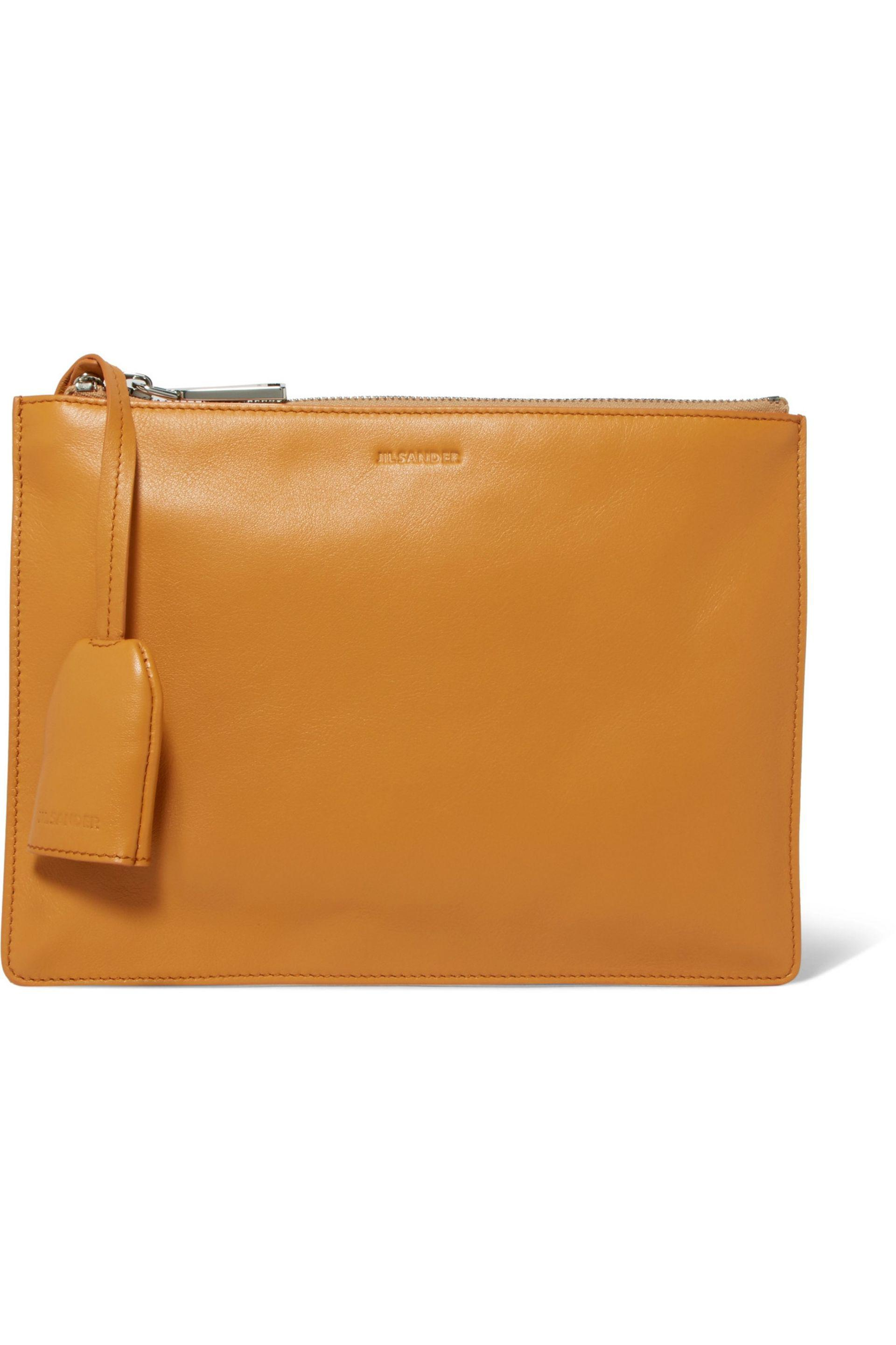 Pre-owned - LEATHER CLUTCH PURSE Jil Sander S75IbK