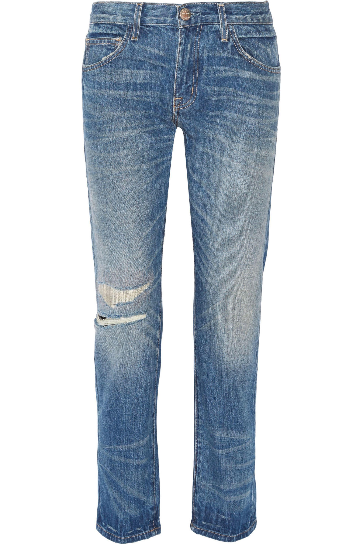 Sale From China Excellent Online Current/elliott Woman Faded Boyfriend Jeans Dark Denim Size 27 Current Elliott qa1c8vu45d
