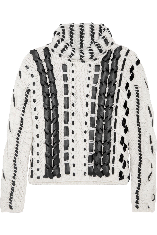 Lyst - Altuzarra Caravan Wool And Mohair-blend Knitted Sweater ...