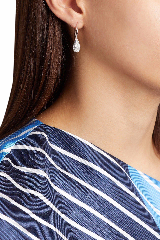 Monica Vinader Woman Stellar Rose Gold-plated Diamond Earrings Rose Gold