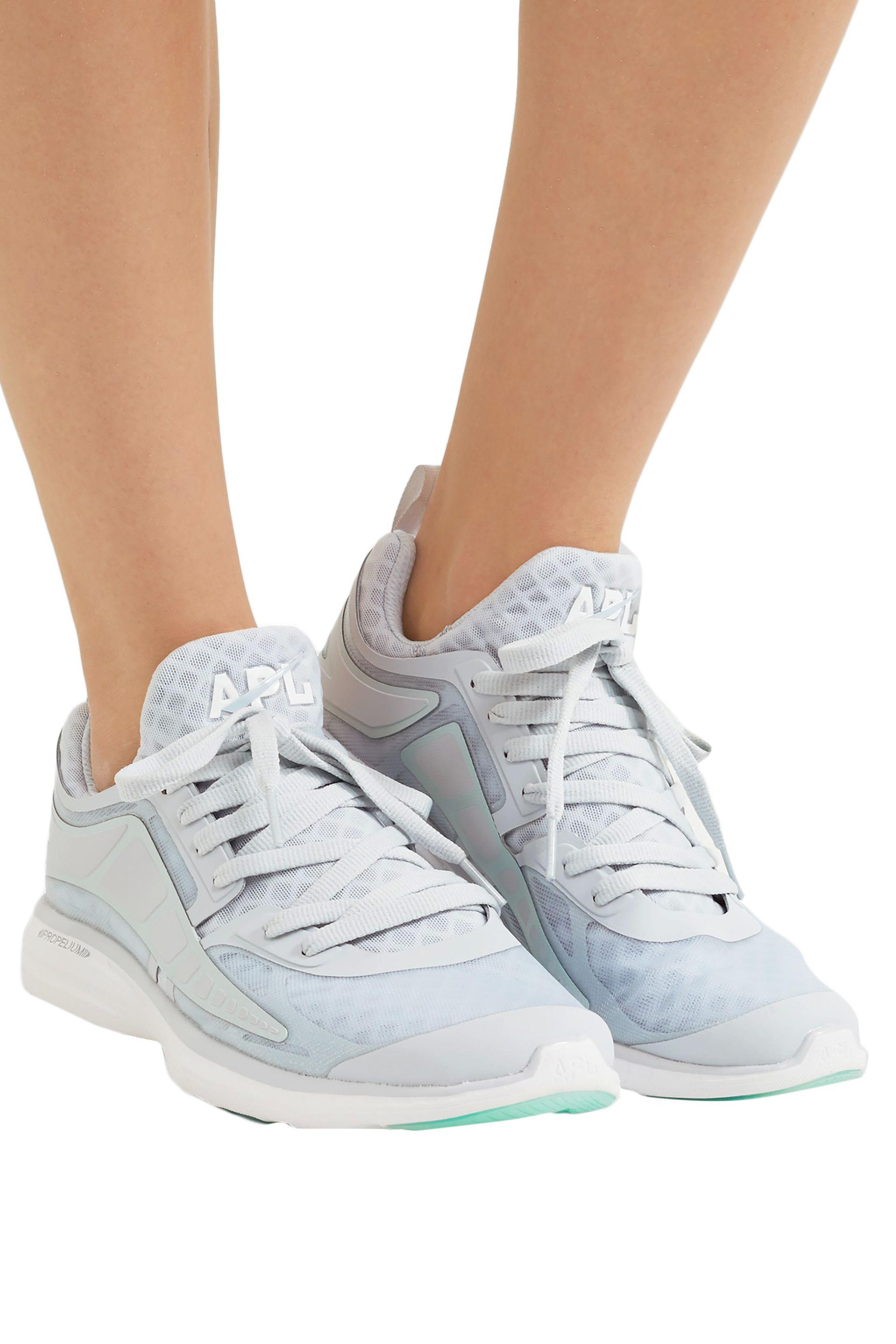 APL Shoes Prism Mesh Sneakers Light Gray