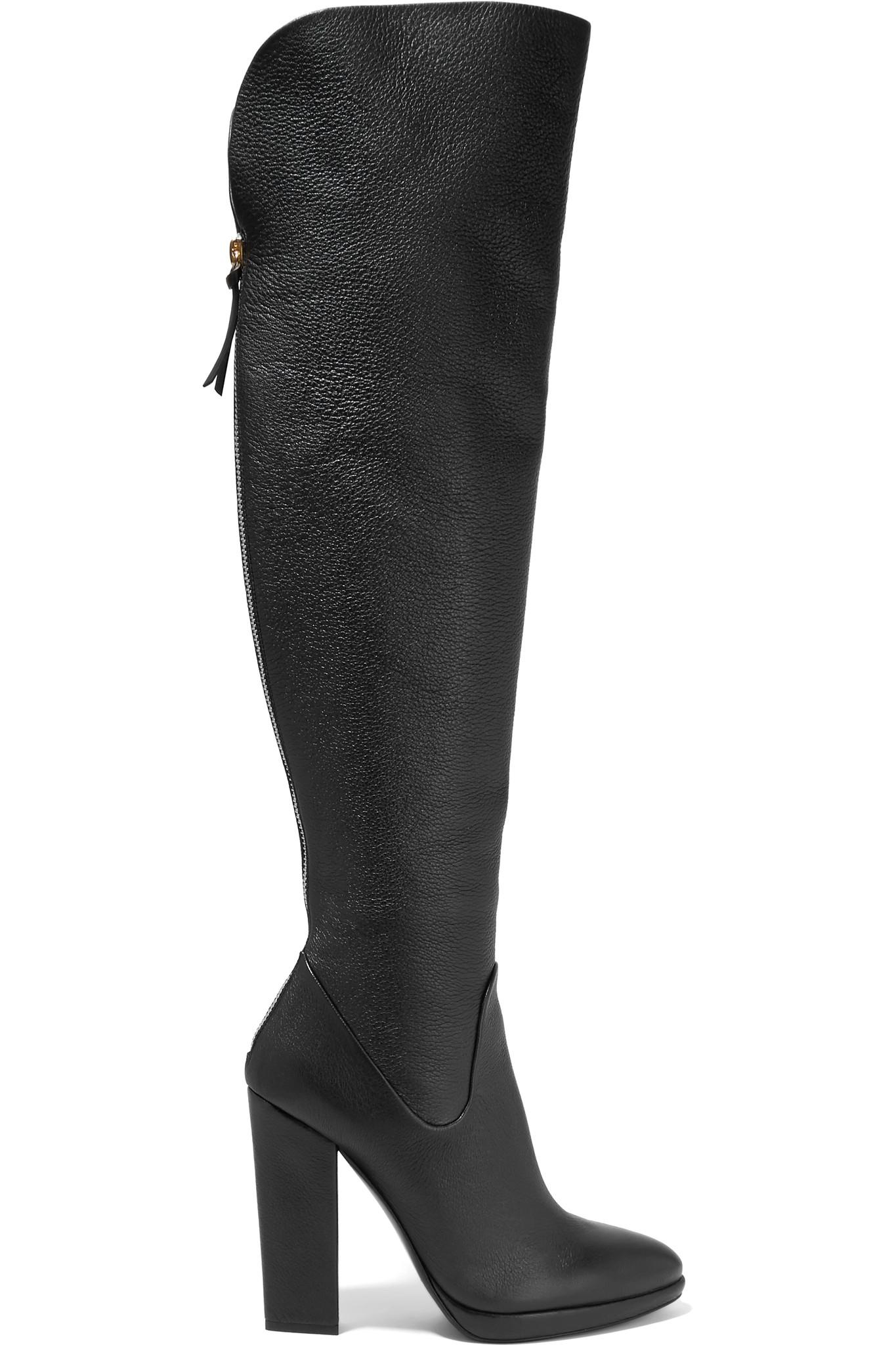 New Promotions Giuseppe Zanotti Boots Black Glossed leather